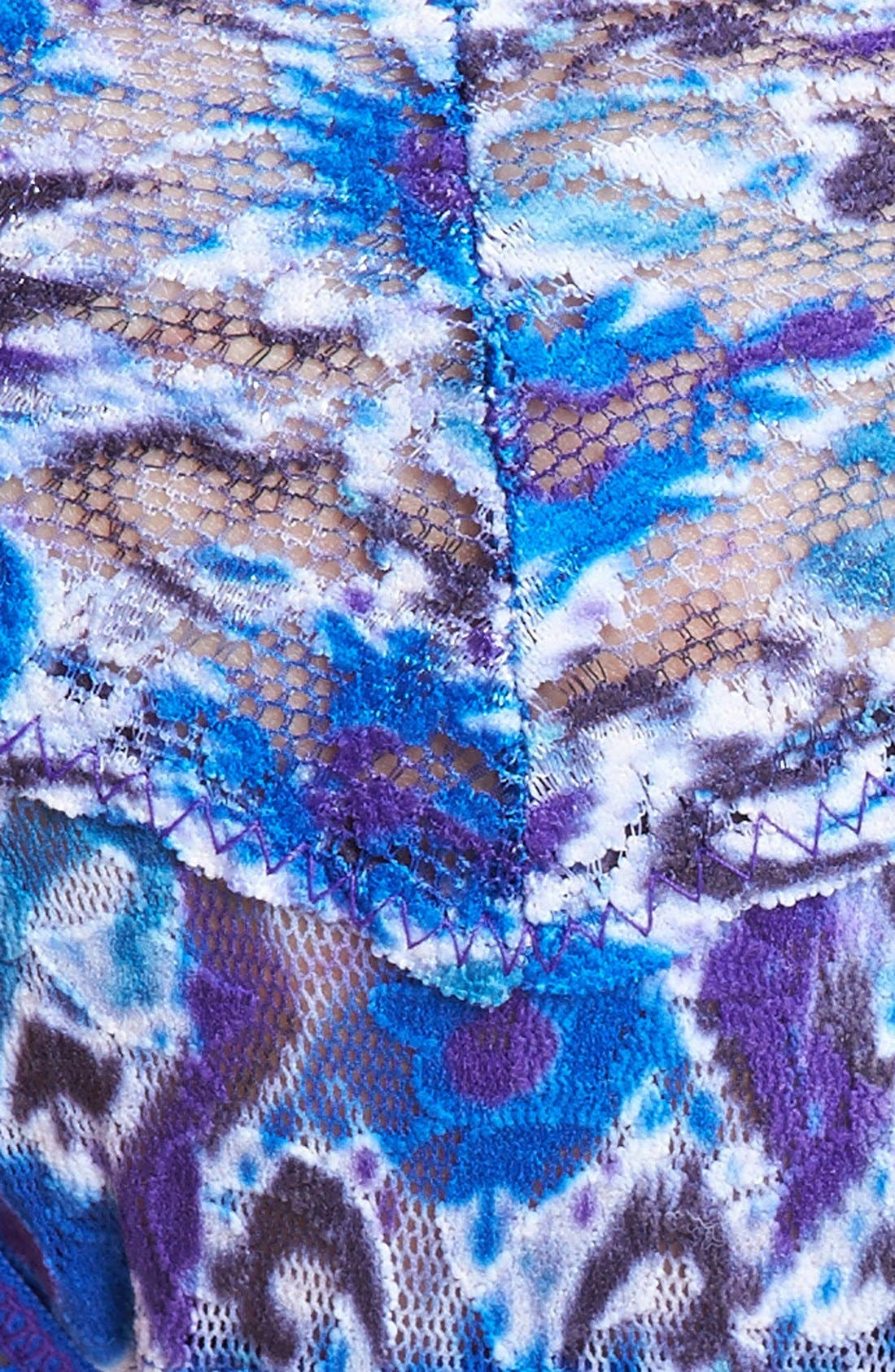 Alternate Image 3  - Hanky Panky 'Blue Ikat' Low Rise Thong