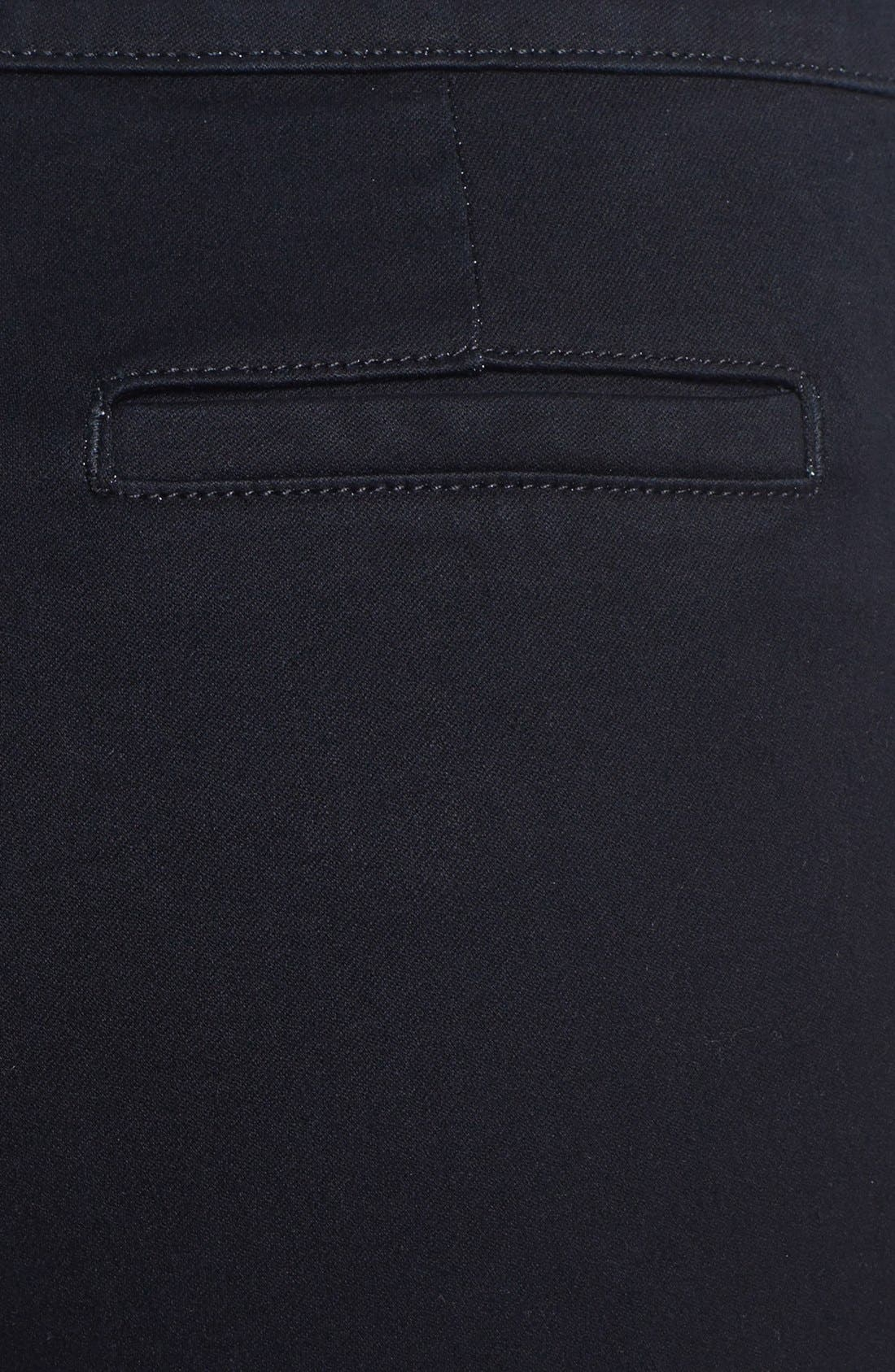 Alternate Image 3  - NYDJ 'Lotus' Stretch Skinny Jeans (Overdye Black)