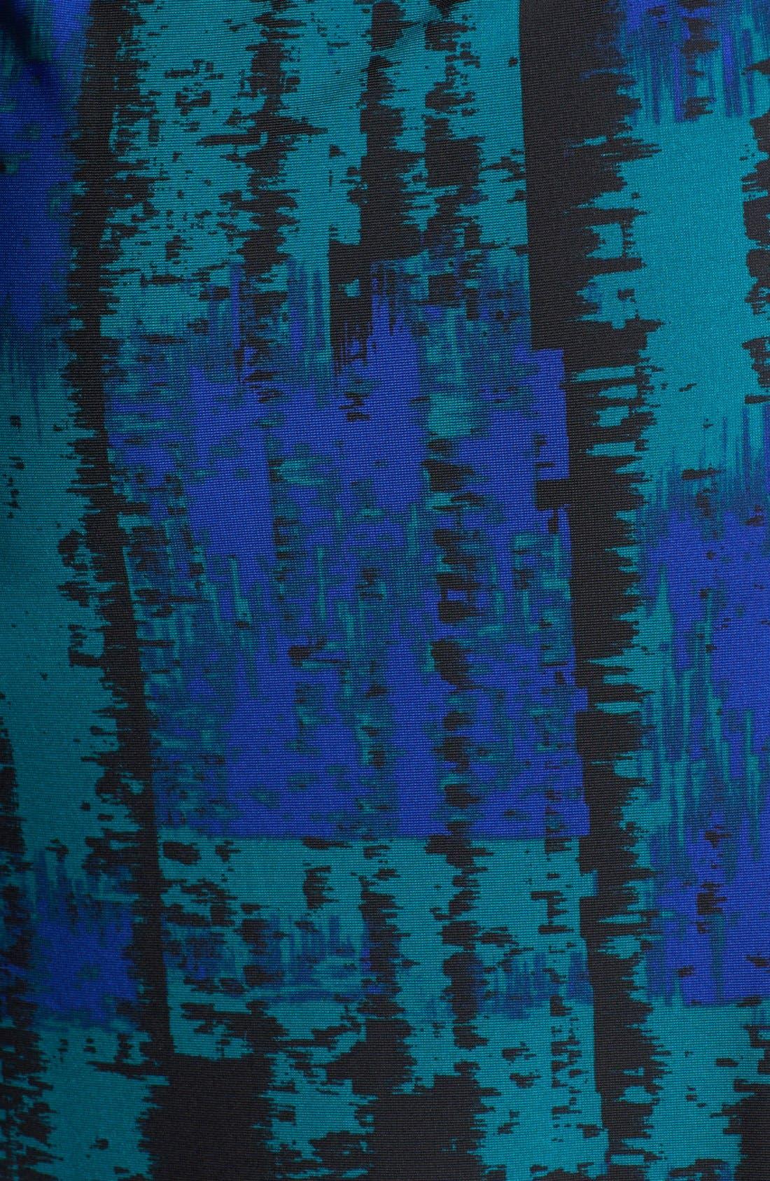 Alternate Image 3  - BCBGMAXAZRIA 'Adele' Print Jersey Wrap Dress