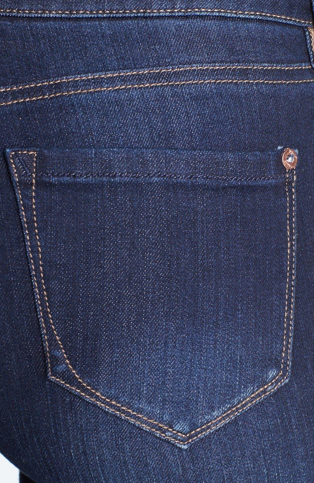 Alternate Image 3  - kensie Skinny Jeans (Starry Eyed)