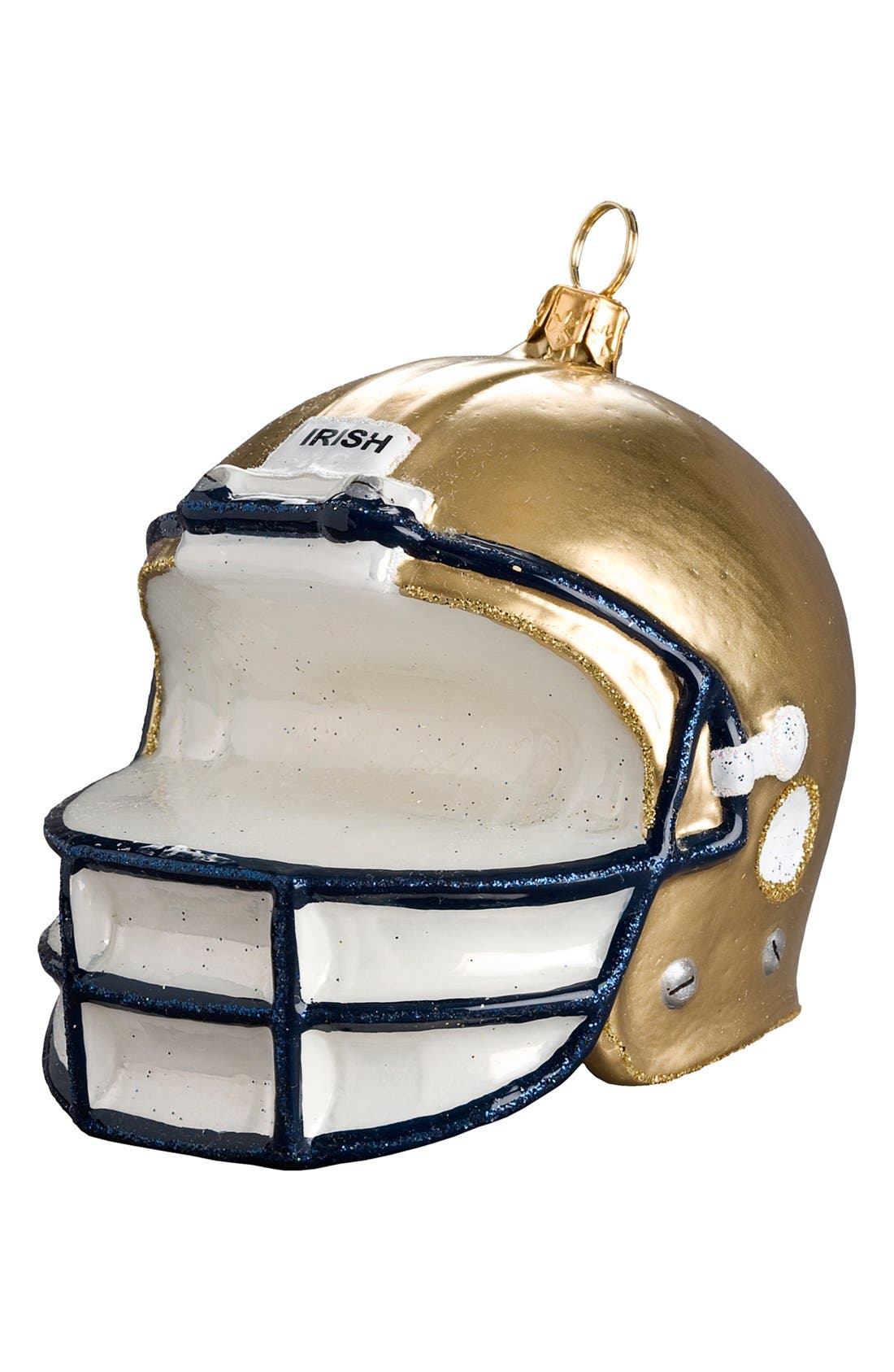 Alternate Image 1 Selected - Joy to the World Collectibles 'Collegiate Helmet - Notre Dame' Ornament