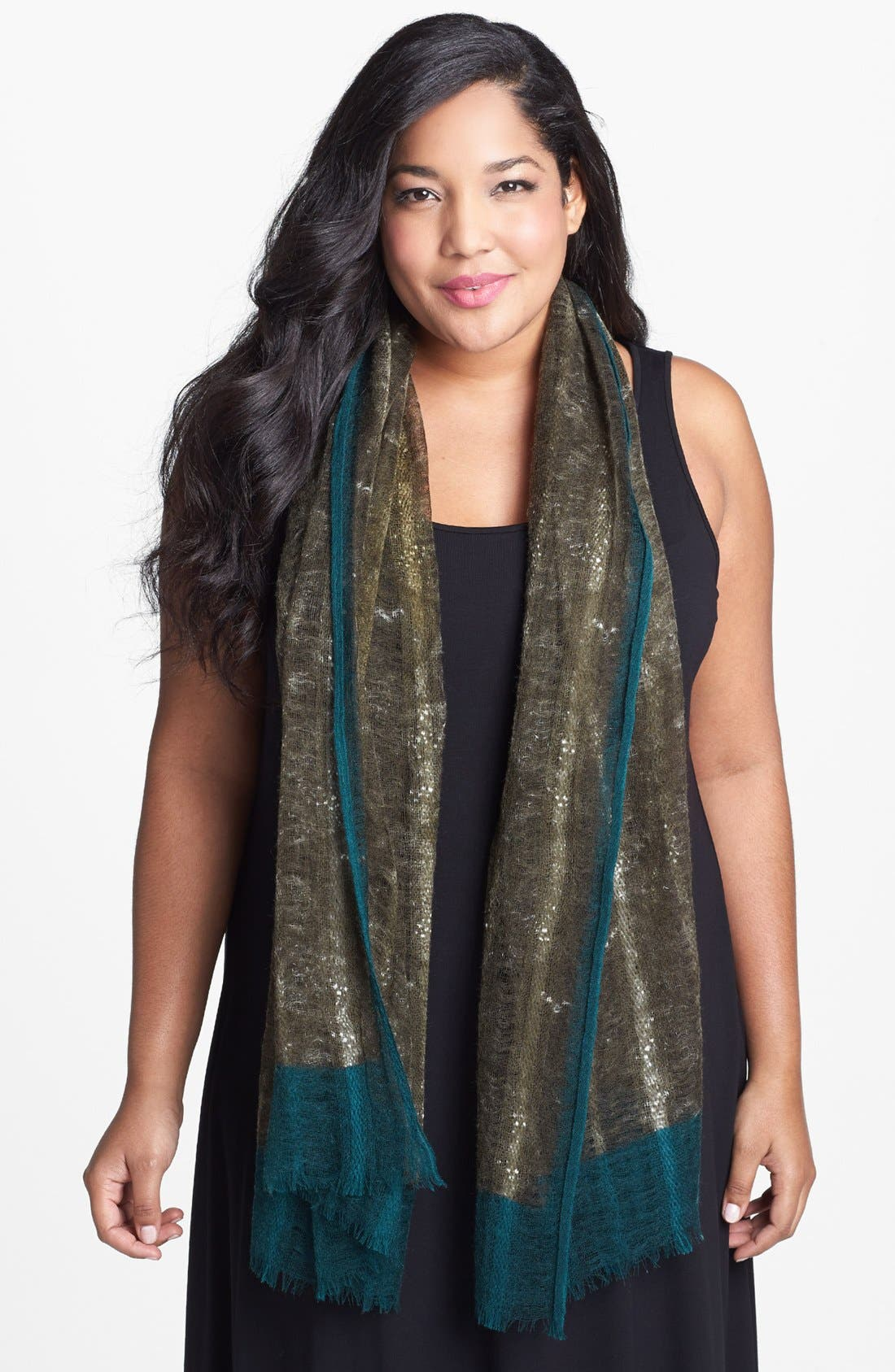Alternate Image 1 Selected - Eileen Fisher Wool Scarf