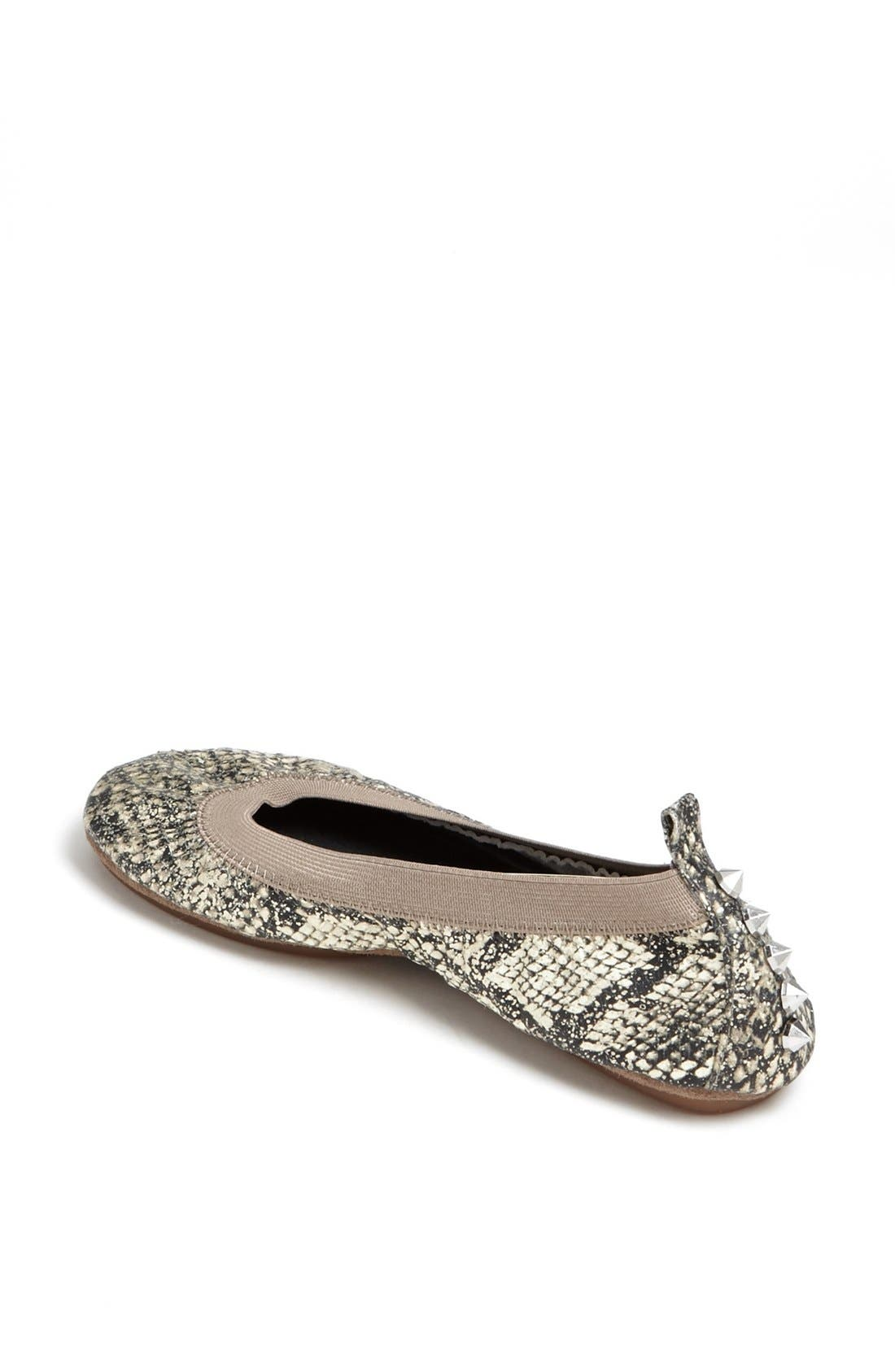 Alternate Image 2  - Yosi Samra Studded Foldable Ballet Flat