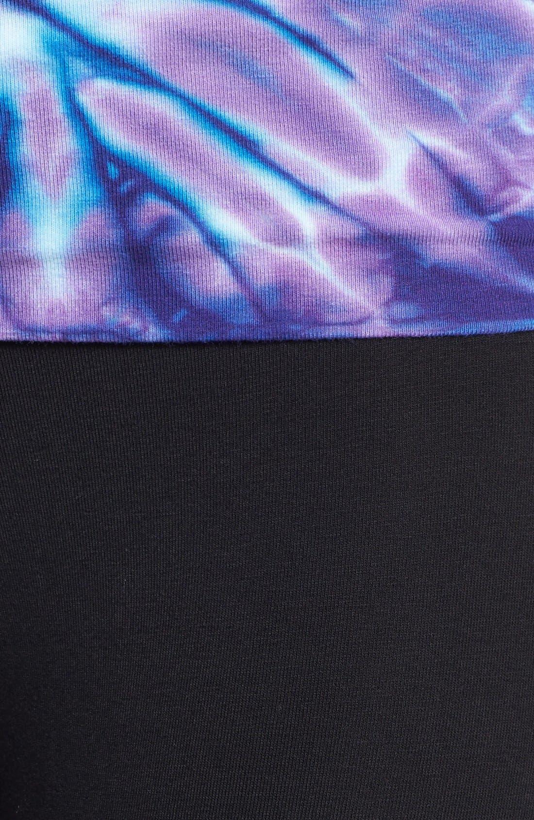 Alternate Image 3  - Hard Tail Shirred Roll Waist Leggings