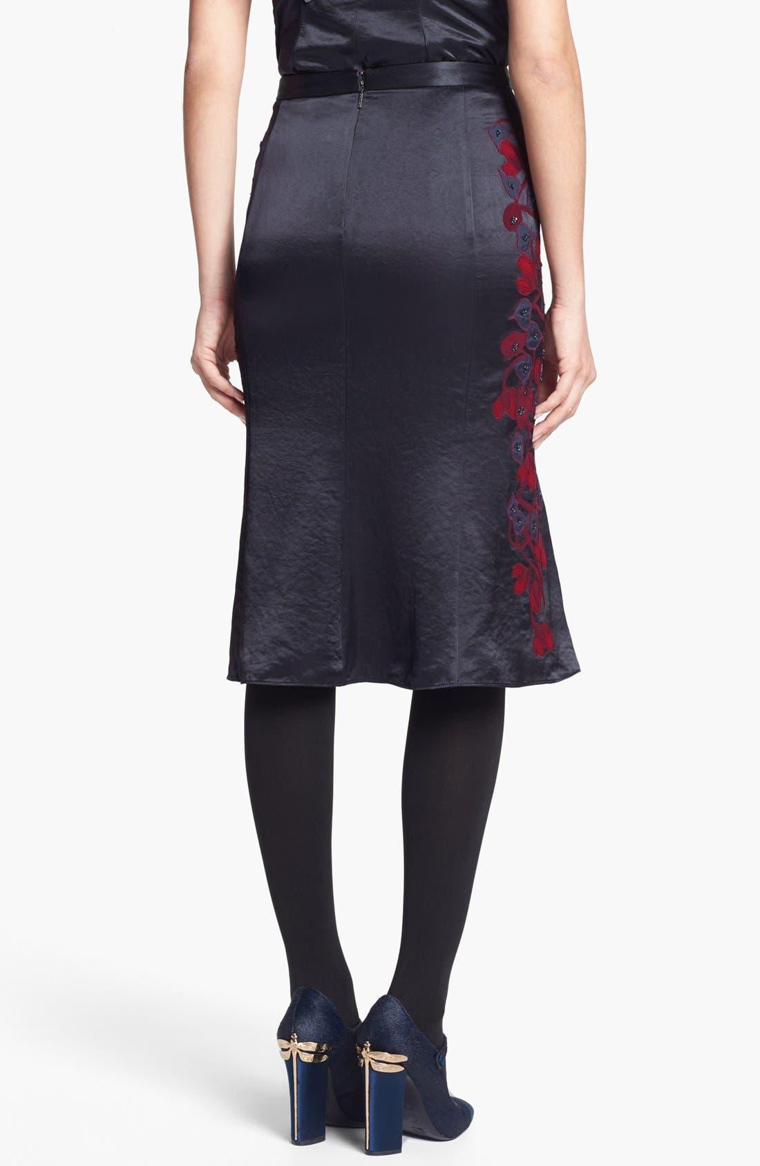 Alternate Image 2  - Tory Burch 'Uma' Embellished Midi Skirt