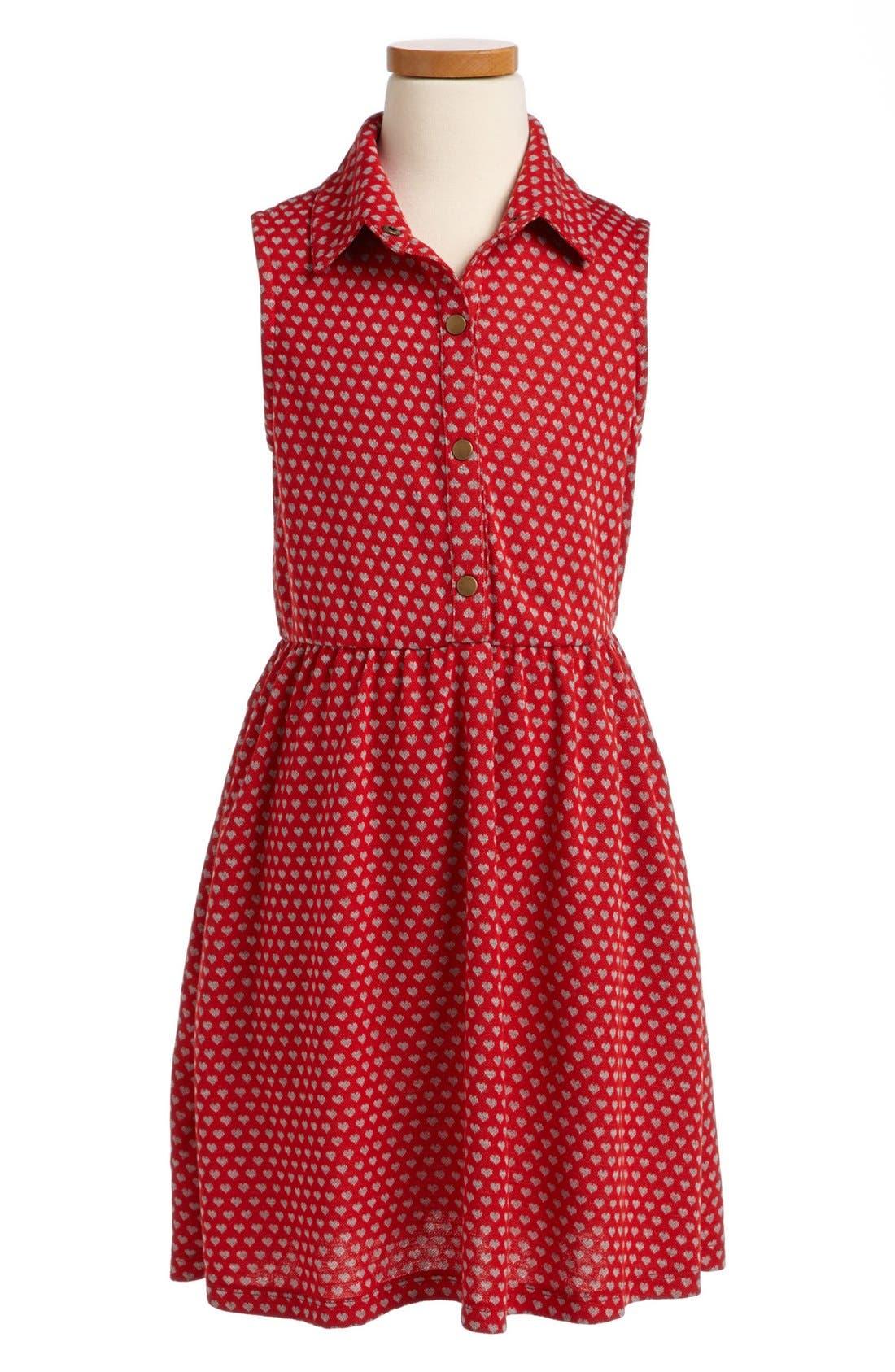 Main Image - Mia Chica 'Heart' Dress (Big Girls)