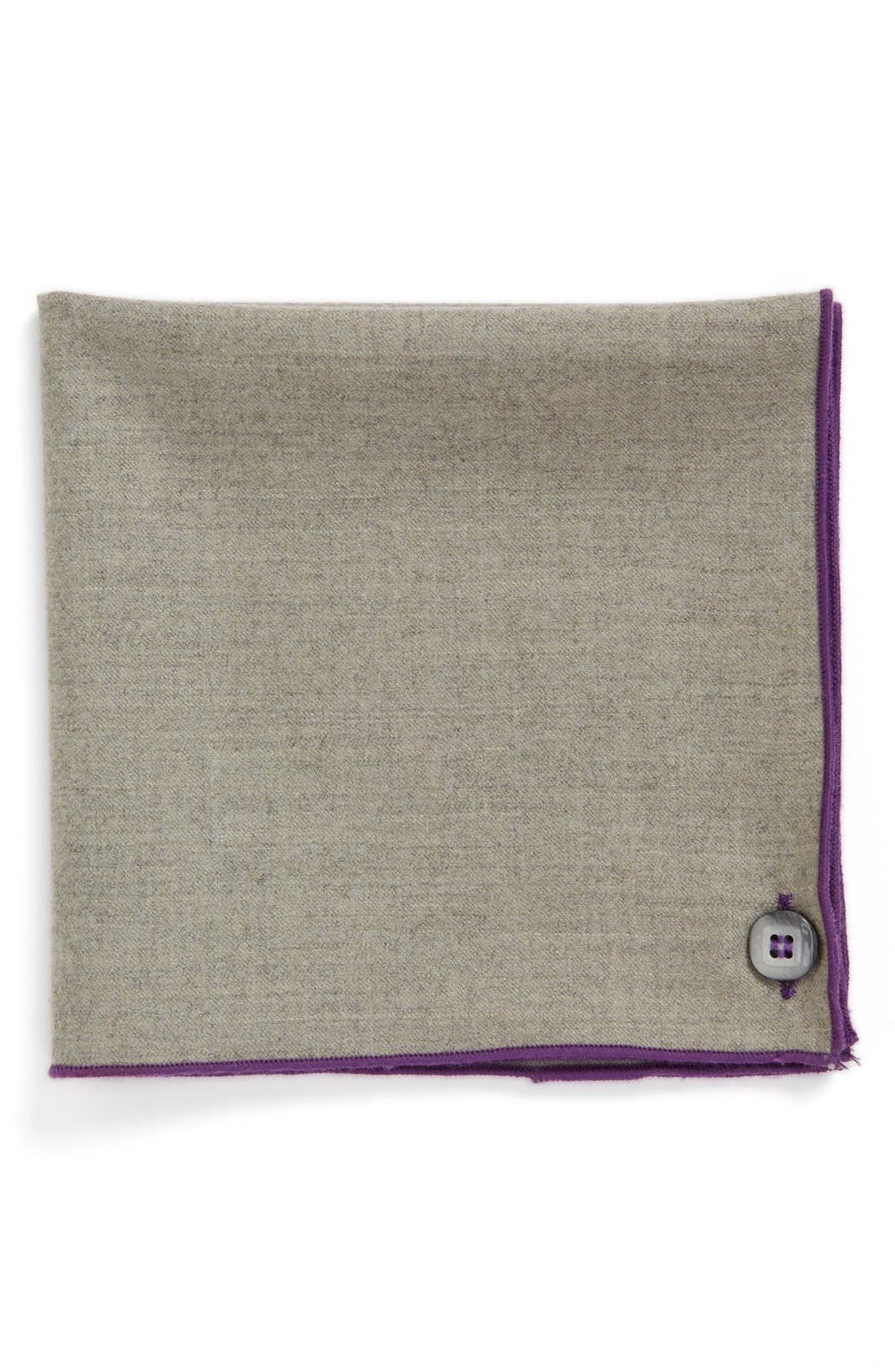 Main Image - Armstrong & Wilson Wool & Cashmere Pocket Square
