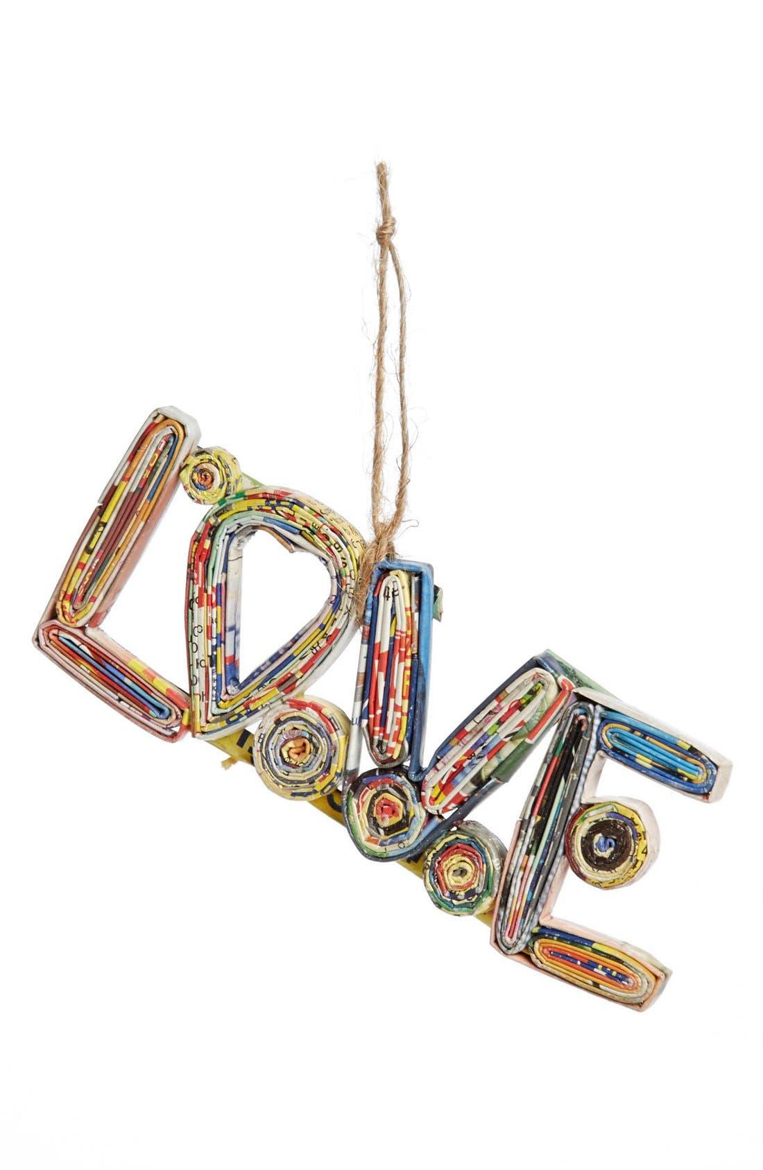 Main Image - Shiraleah 'Love' Ornament