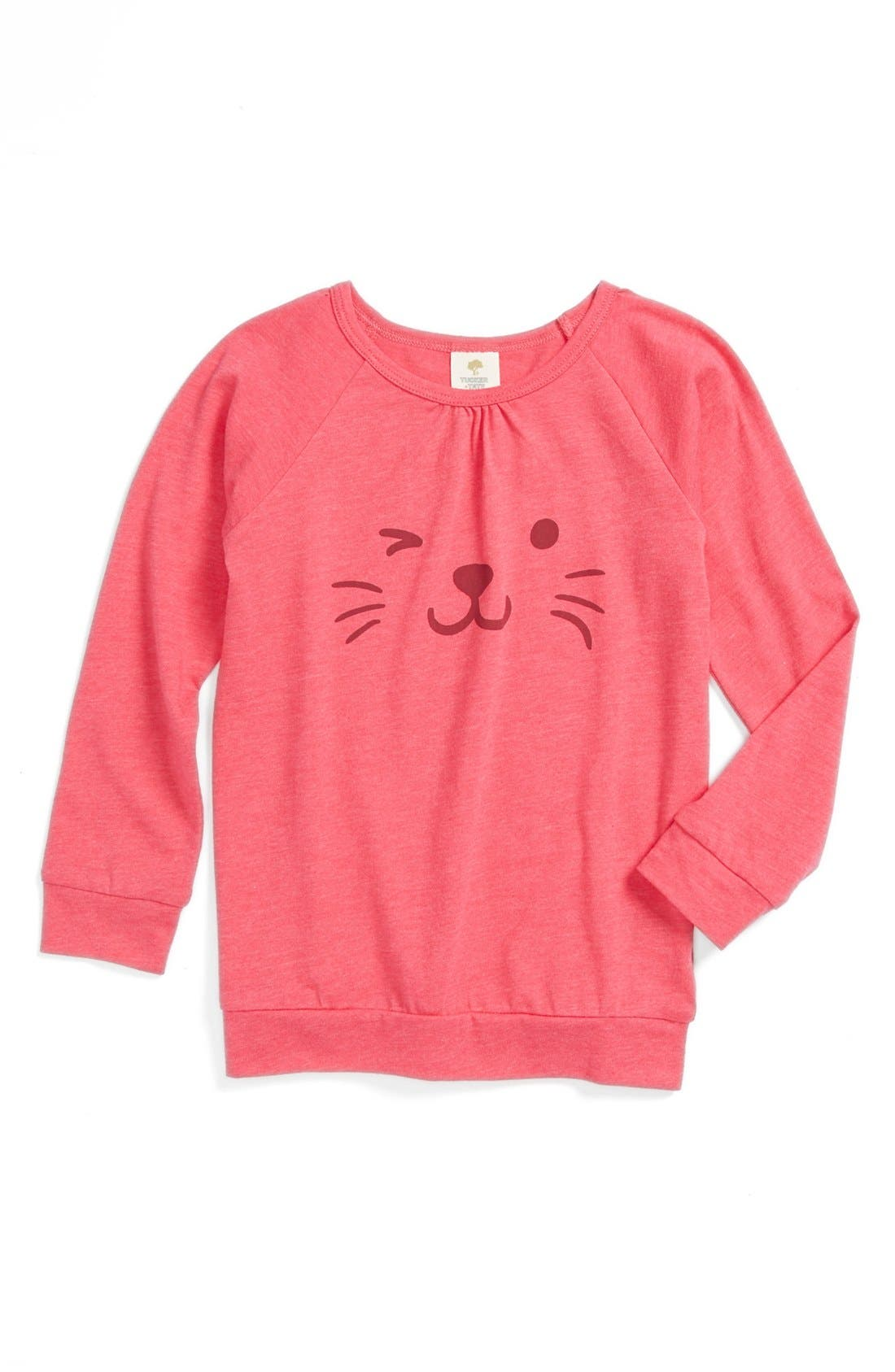 Alternate Image 1 Selected - Tucker + Tate 'Theresa' Long Sleeve Tunic (Little Girls & Big Girls)