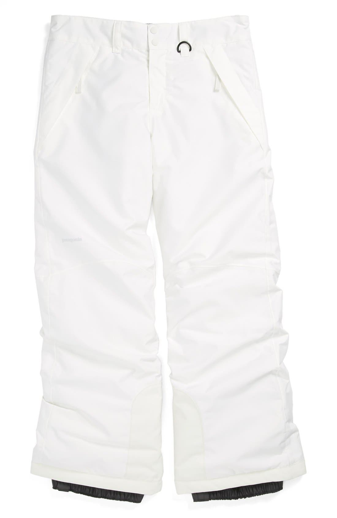 Alternate Image 1 Selected - Patagonia 'Snowbelle' Insulated Pants (Little Girls & Big Girls)