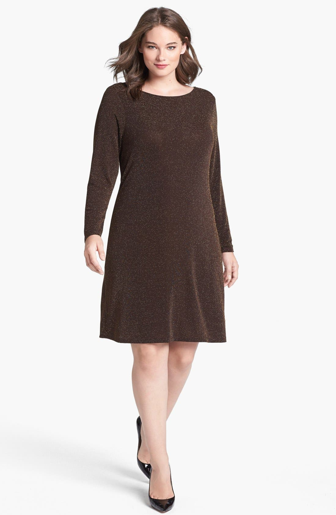 Main Image - MICHAEL Michael Kors Back Drape Dress
