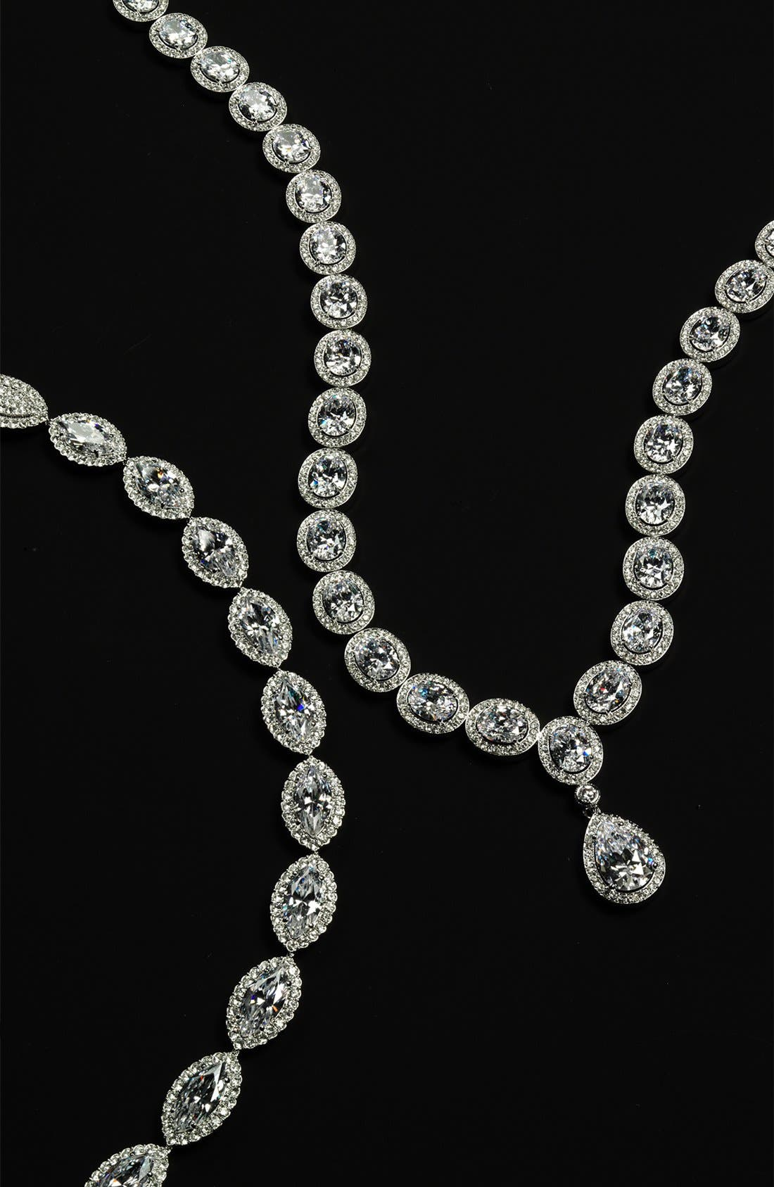 Alternate Image 3  - Nadri 'Marquise' Cubic Zirconia Necklace