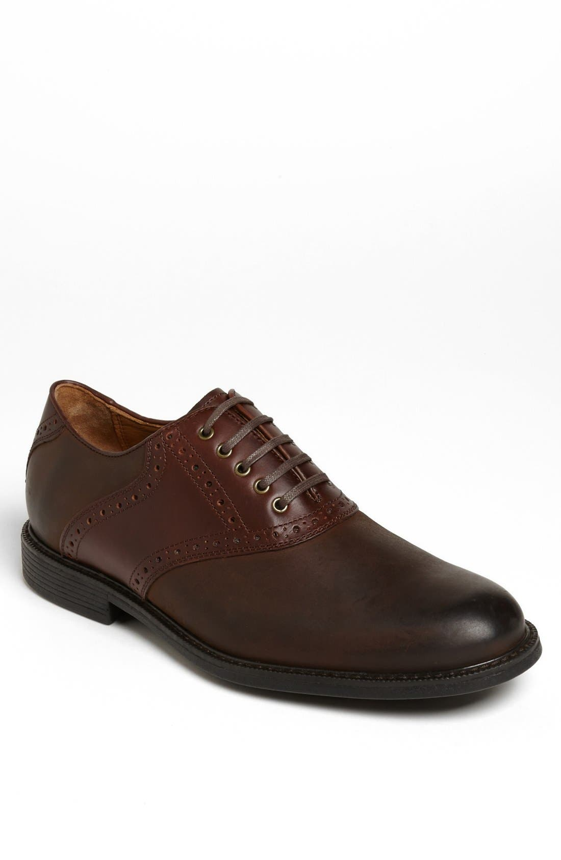 Alternate Image 1 Selected - Johnston & Murphy 'Cardell' Waterproof Saddle Oxford (Men)