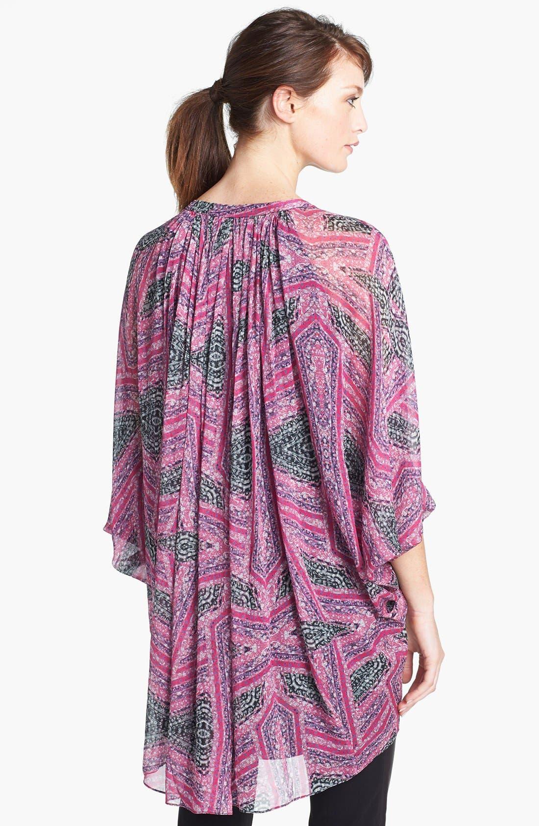 Alternate Image 2  - Diane von Furstenberg 'Fleurette' Silk Tunic Dress