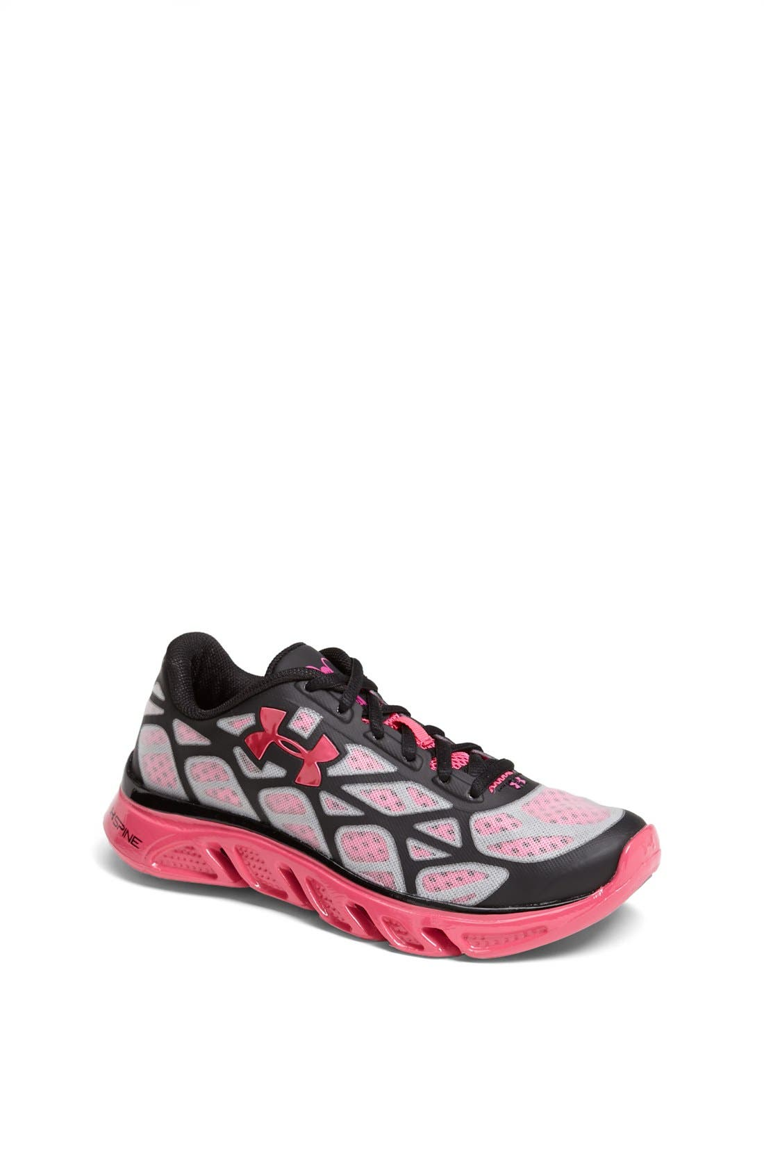 Main Image - Under Armour 'Spine™ Vice Breast Cancer Awareness' Athletic Shoe (Big Kid)