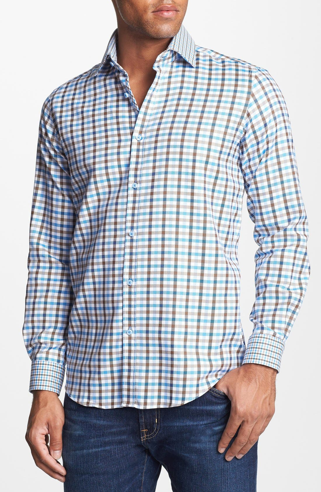 Alternate Image 1 Selected - Report Collection Trim Fit Sport Shirt