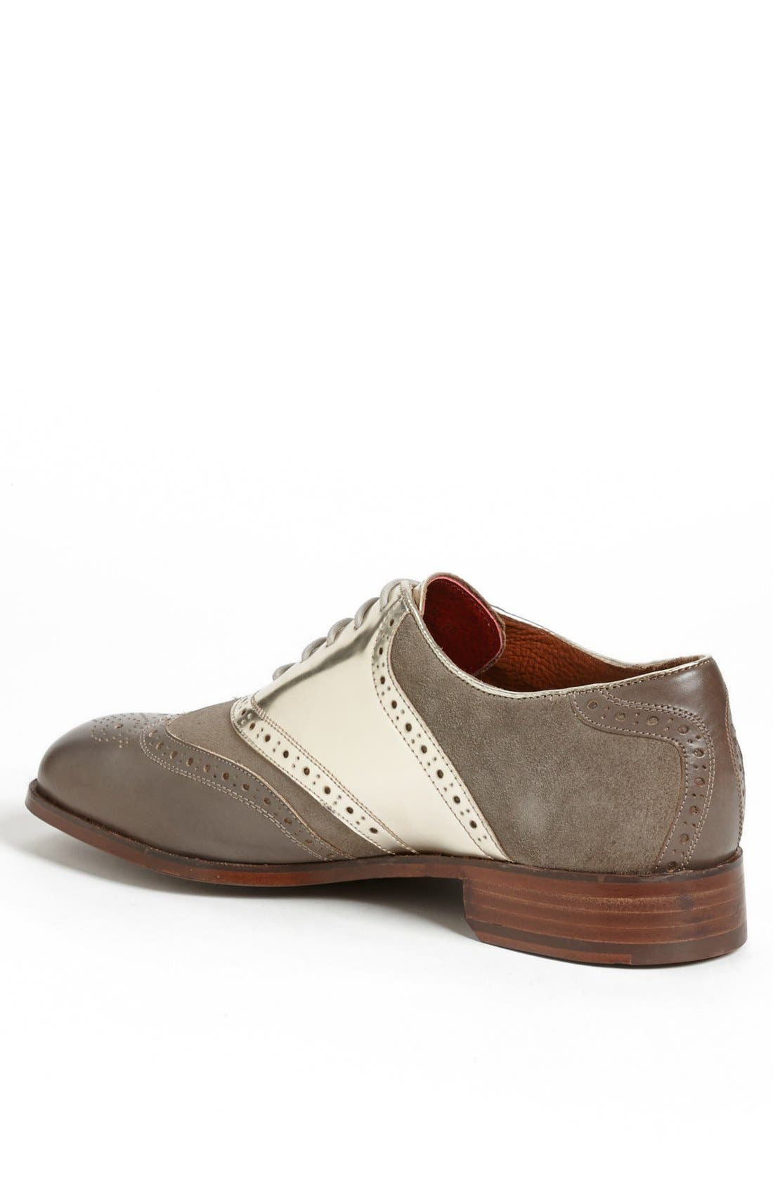 Alternate Image 2  - Florsheim by Duckie Brown 'Wing' Saddle Shoe