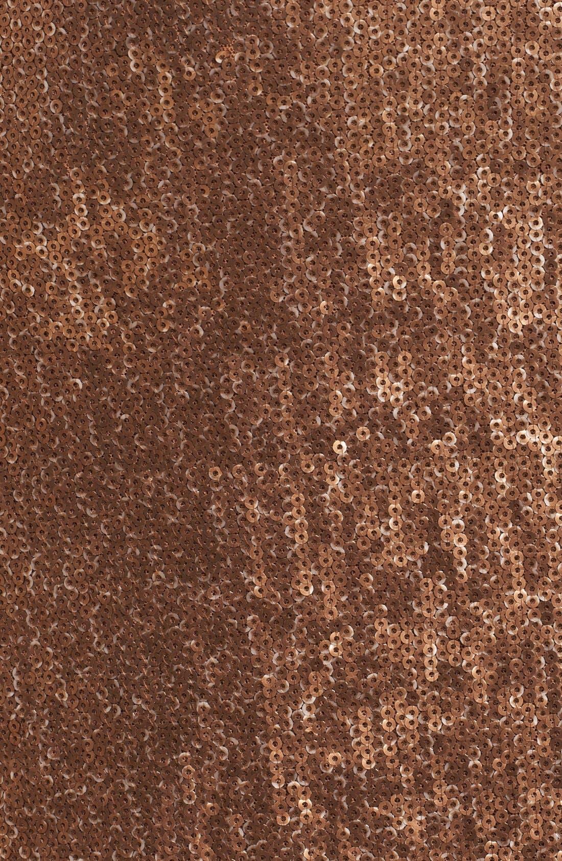 Alternate Image 3  - Donna Karan Collection Strapless Ombré Sequin Gown