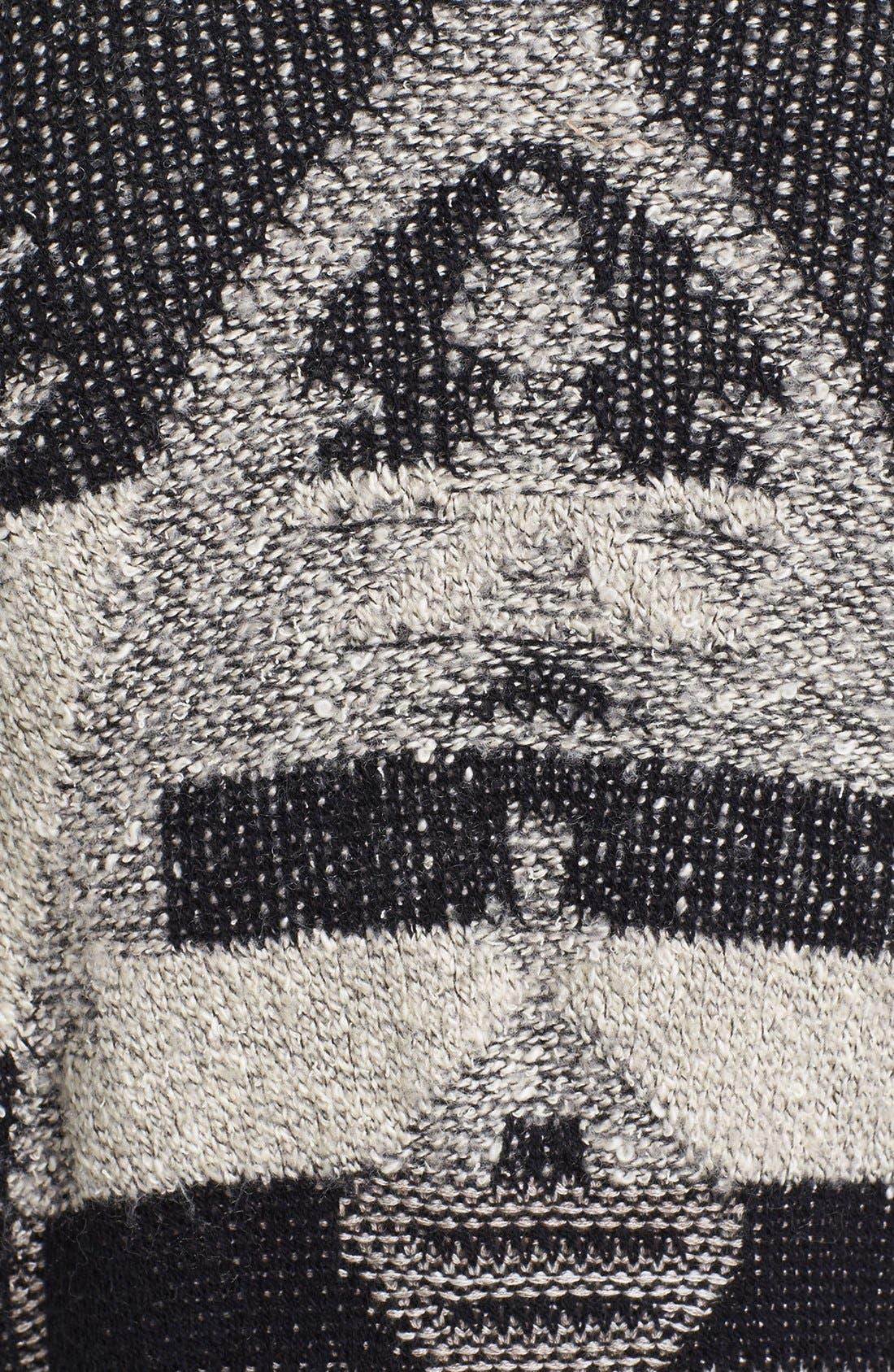 Alternate Image 3  - Lucky Brand Tribal Pattern Cardigan