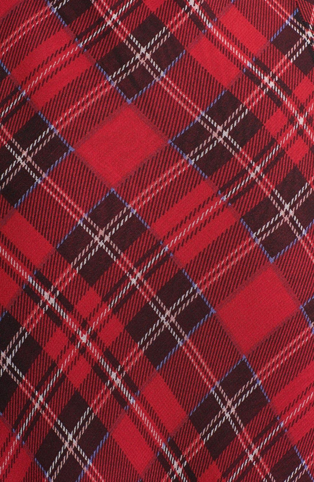Alternate Image 3  - Free People 'Venitia' Ruffled Plaid Maxi Dress