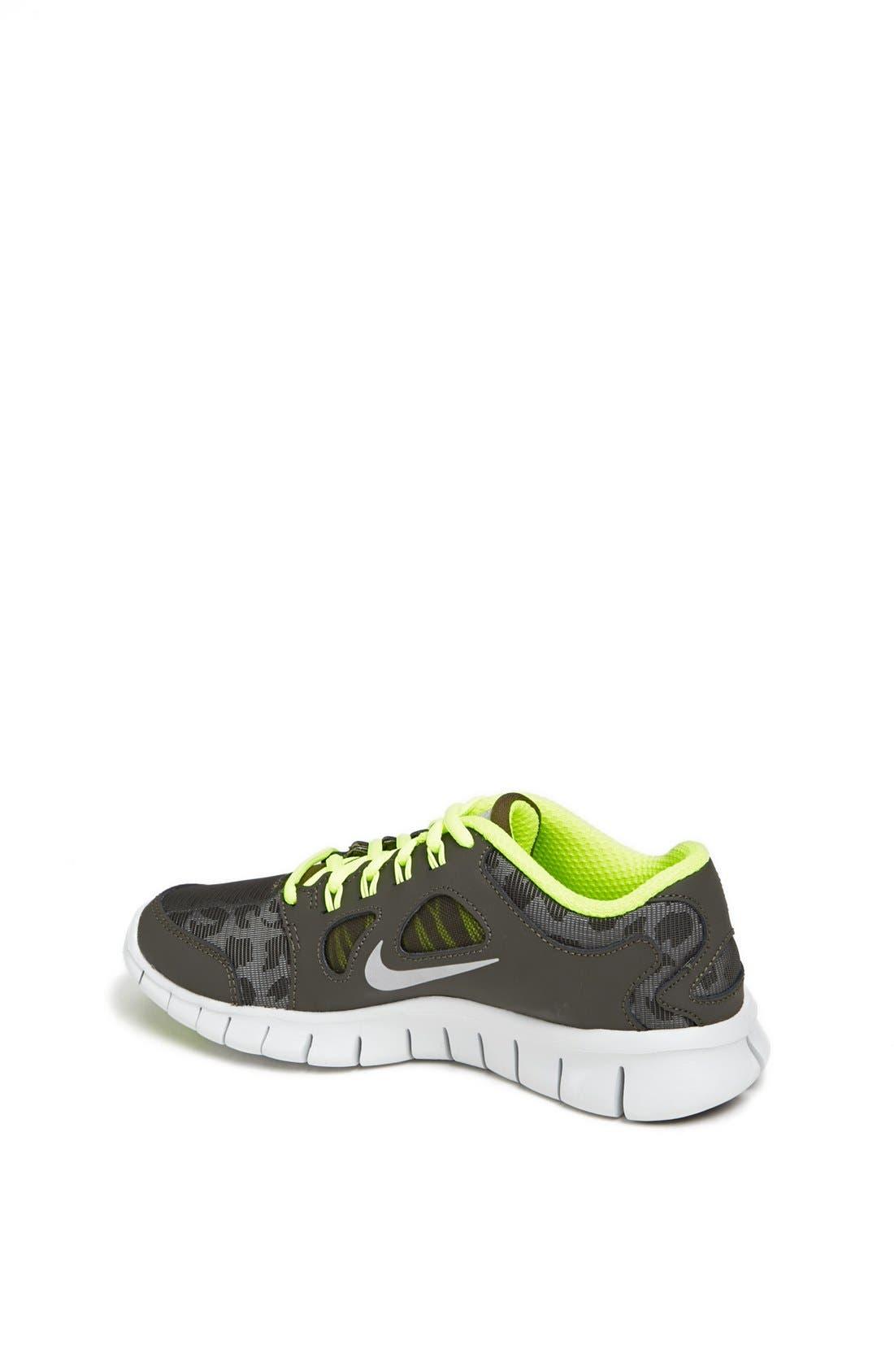 Alternate Image 2  - Nike 'Free 5.0 Shield' Running Shoe (Big Kid)