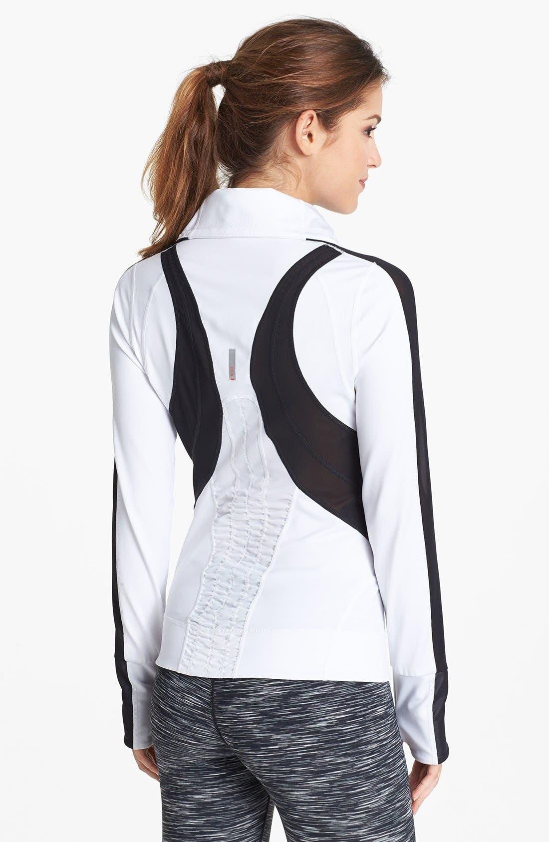 Alternate Image 3  - Zella 'Bliss' Colorblock Jacket