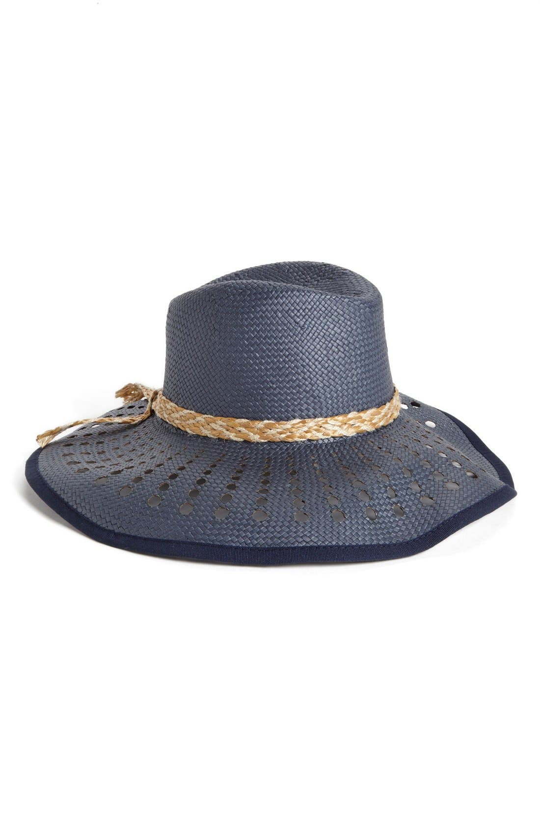 Main Image - Nordstrom 'Holey' Floppy Hat