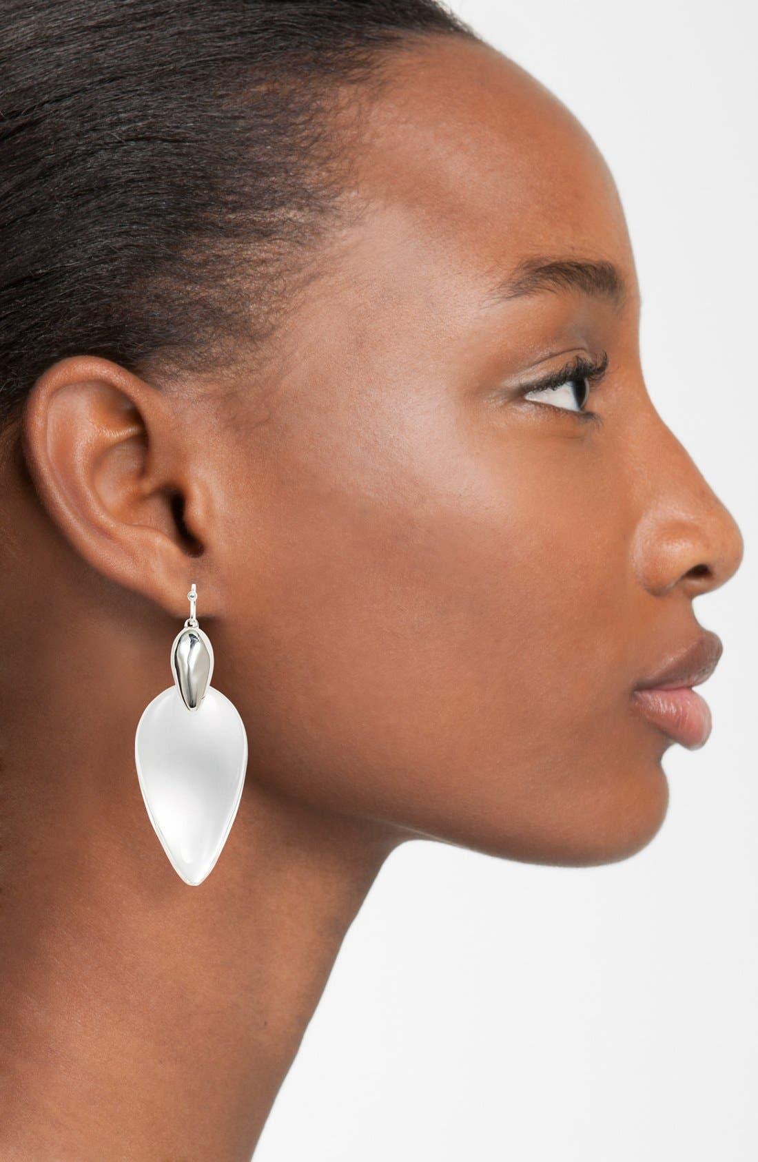 Alternate Image 2  - Alexis Bittar 'Lucite® - Winter Deco' Drop Earrings
