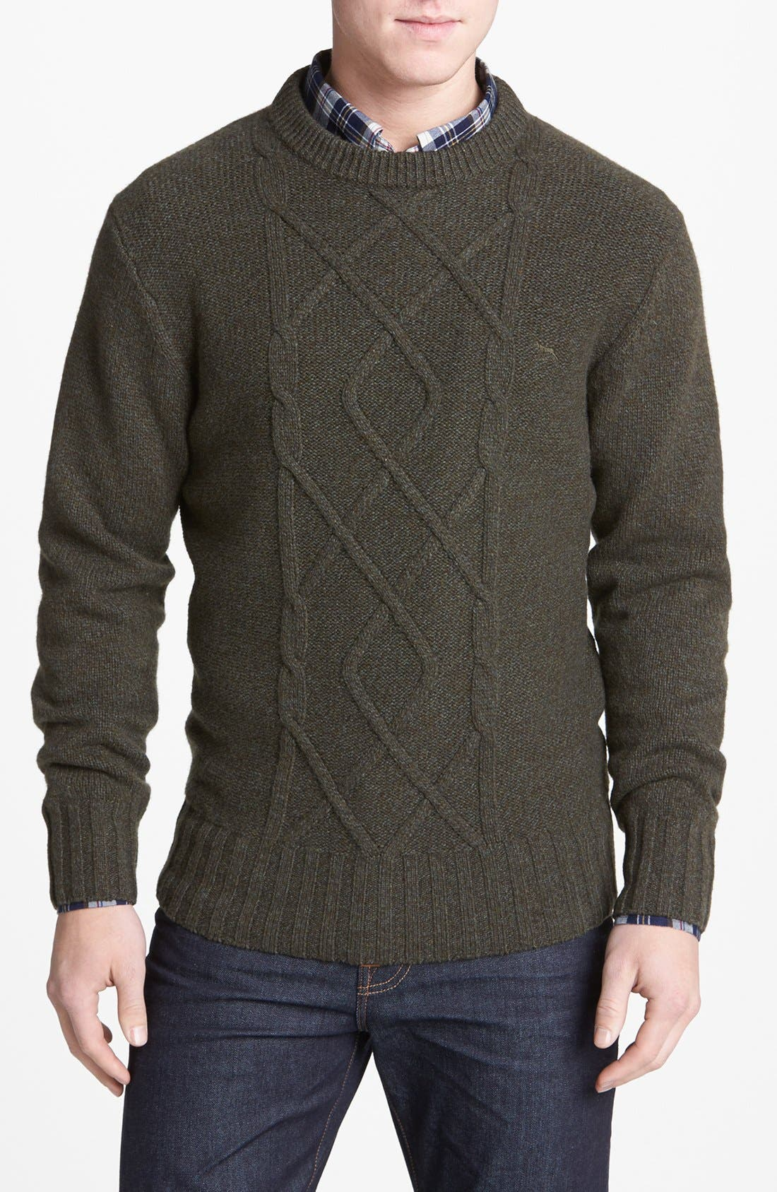 Alternate Image 1 Selected - Rodd & Gunn 'Sumer' Cable Knit Sweater