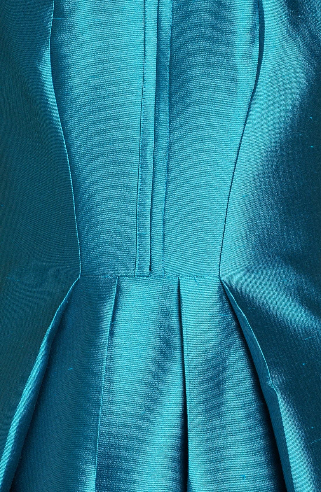 Alternate Image 3  - Michael Kors Seamed Silk & Wool Dress