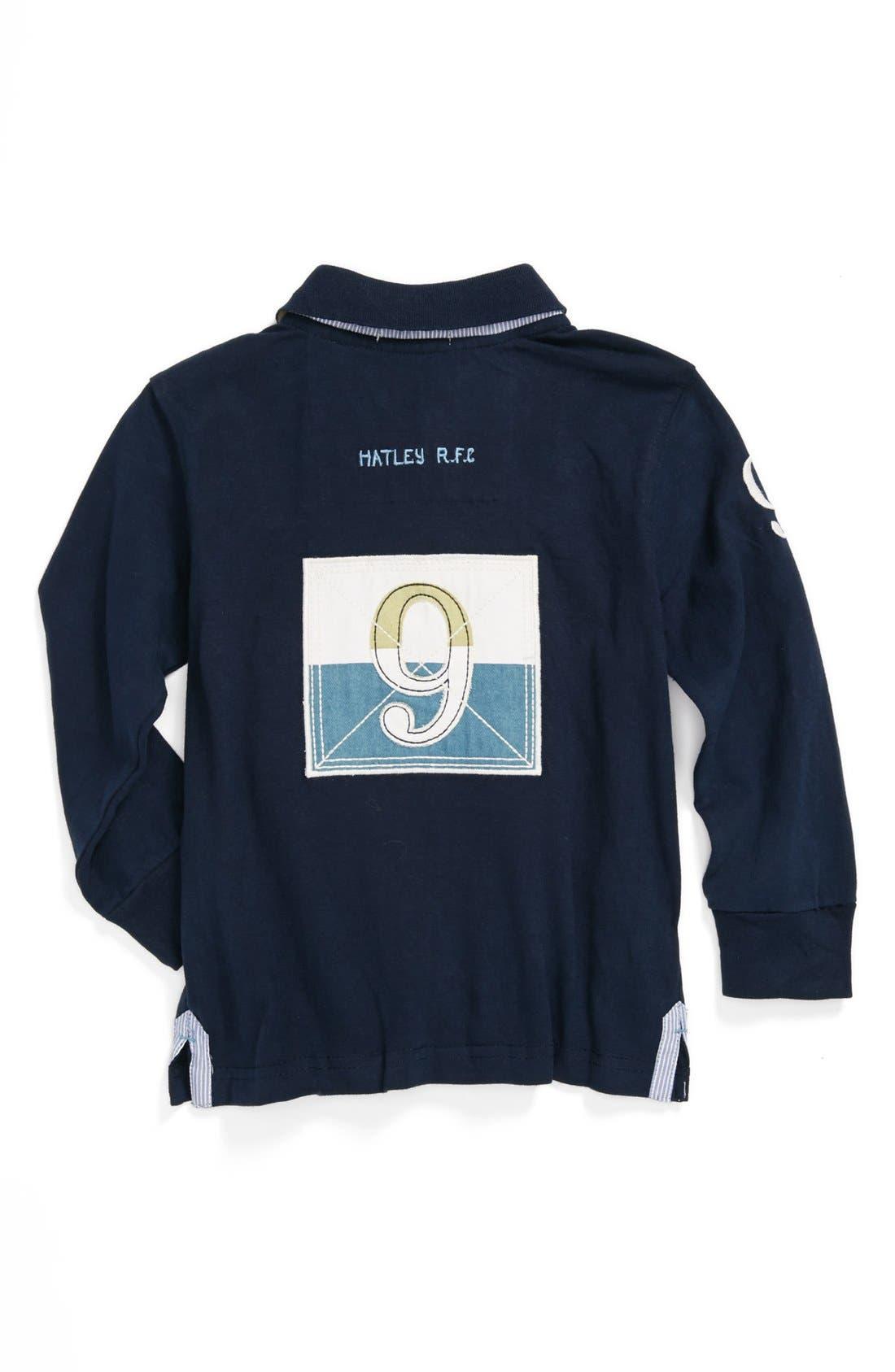 Alternate Image 2  - Hatley 'Dino' Rugby Shirt (Toddler Boys)