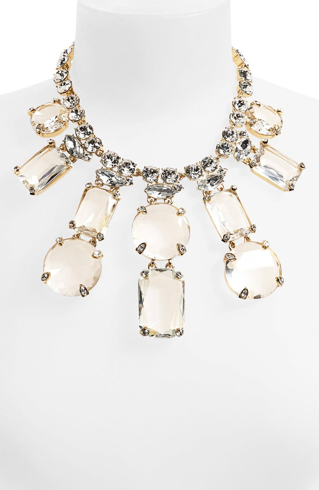 Alternate Image 2  - kate spade new york 'opening night' crystal statement necklace