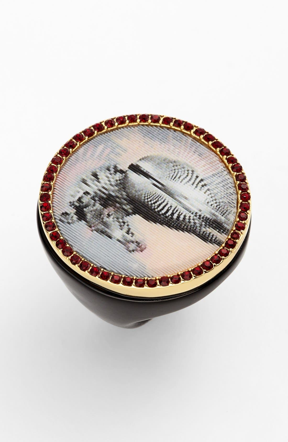 Main Image - MARC BY MARC JACOBS 'Lenticular - Zebra' Statement Ring