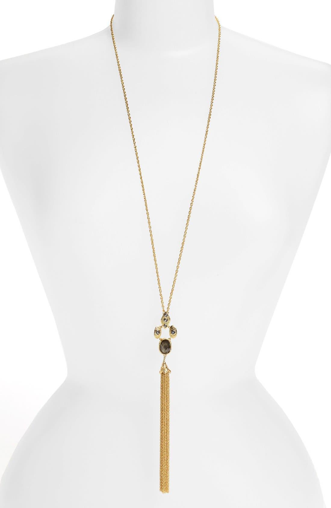 Alternate Image 1 Selected - Alexis Bittar 'Elements' Long Tassel Pendant Necklace