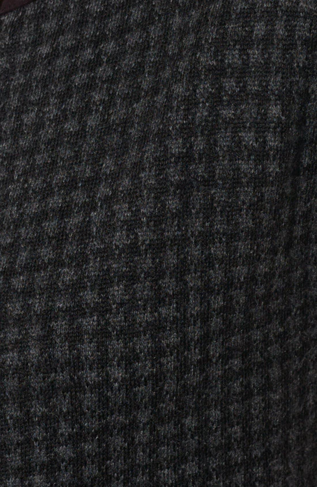 Alternate Image 3  - Lauren Ralph Lauren Houndstooth Boatneck Dress (Petite)