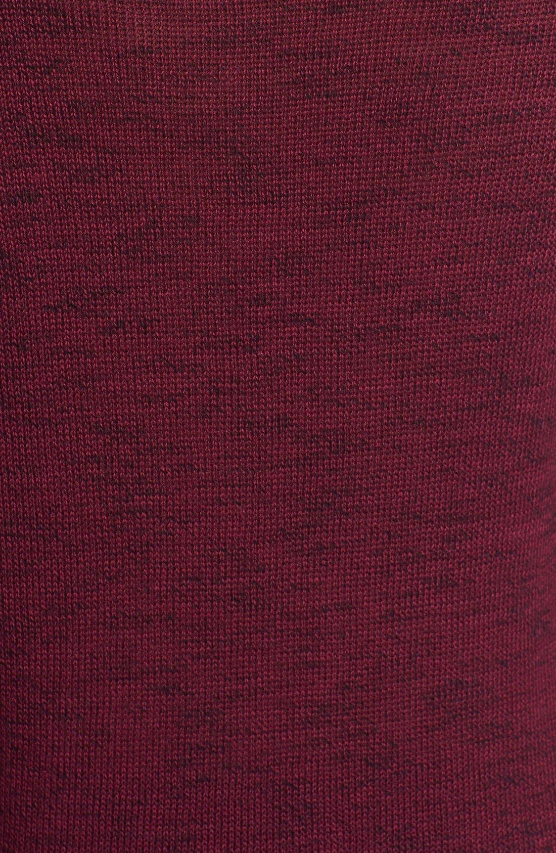 Alternate Image 3  - Halogen® Zip Pocket Tunic Sweater (Regular & Petite Focus)