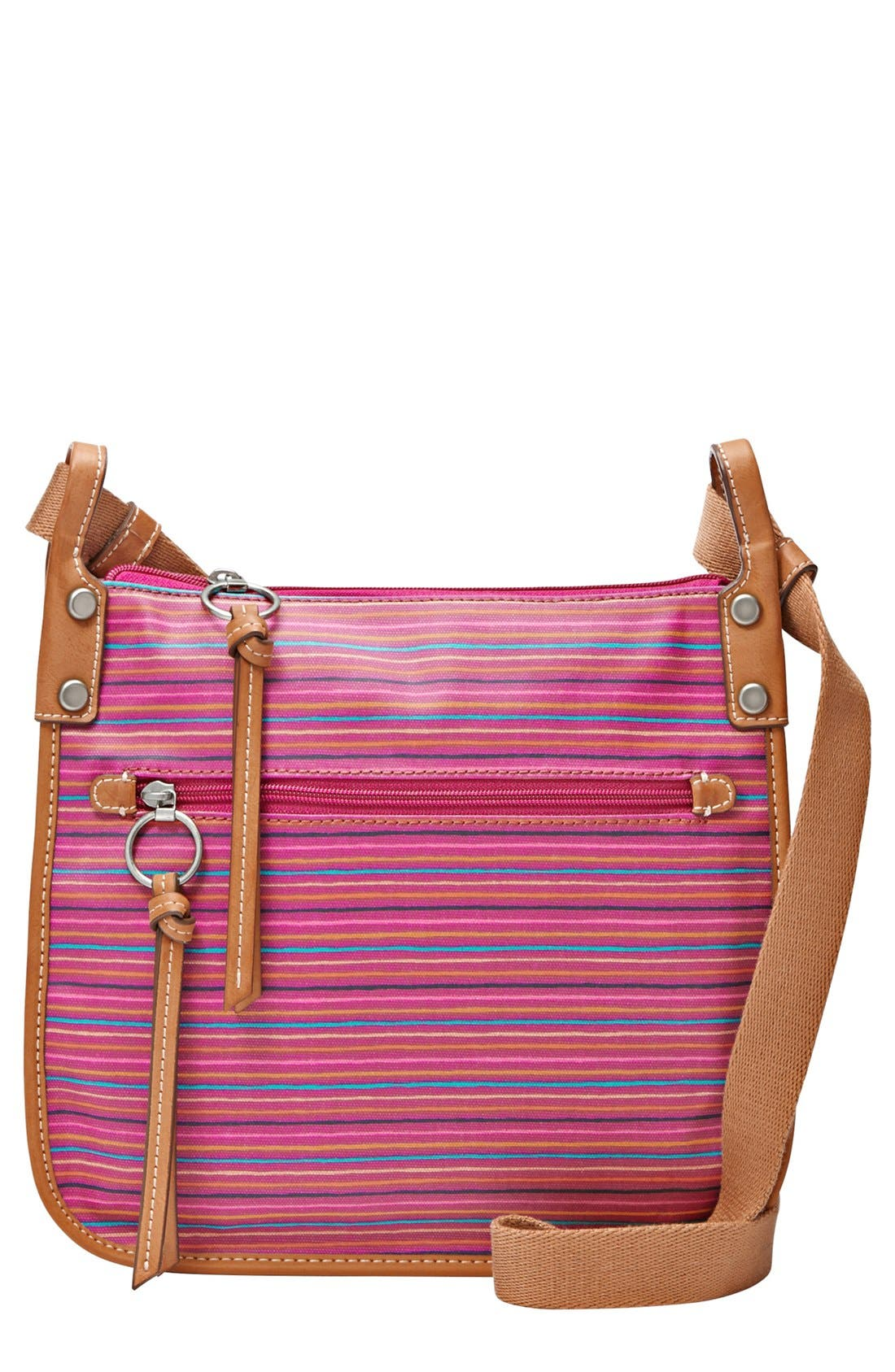 Alternate Image 1 Selected - Fossil 'Key-Per' Crossbody Bag
