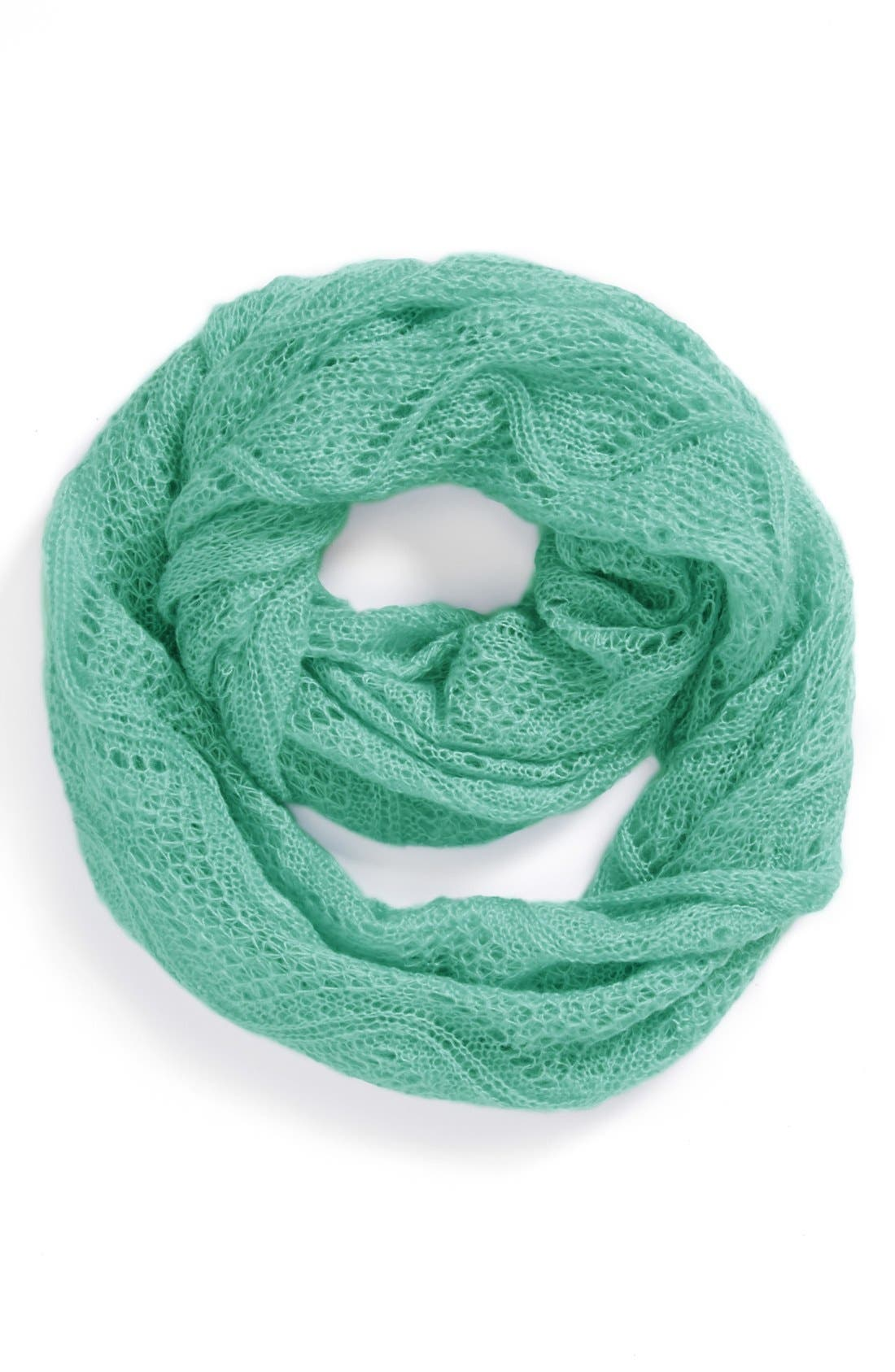 Main Image - BP. Pointelle Infinity Scarf (Juniors)