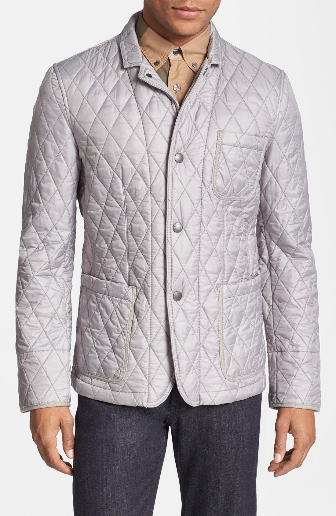 Alternate Image 1 Selected - Burberry Brit 'Howe' Quilted Jacket