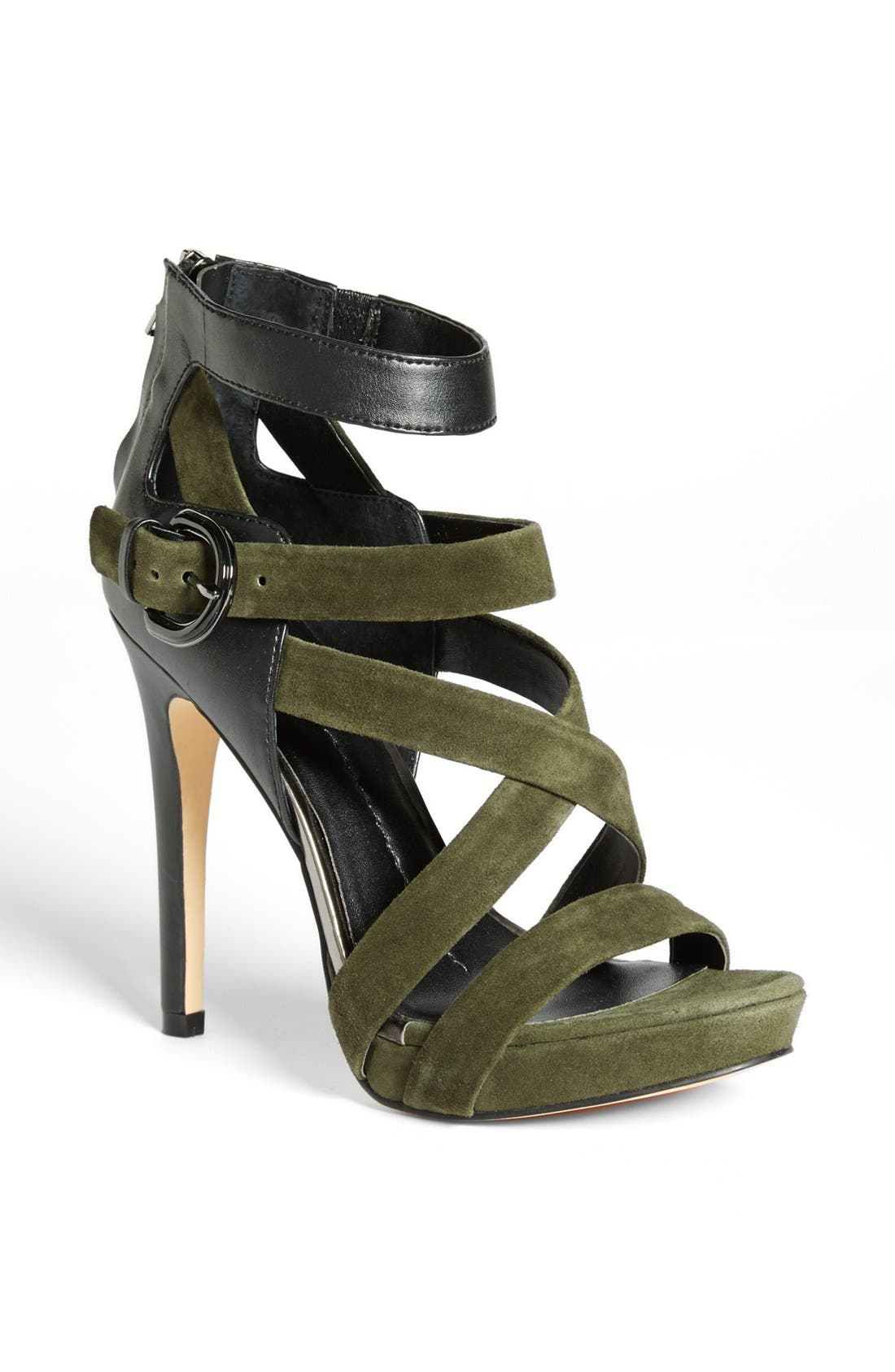 Alternate Image 1 Selected - DV by Dolce Vita 'Scotlyn' Leather & Suede Sandal