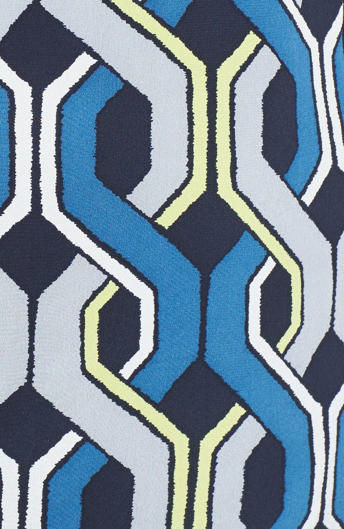 Alternate Image 3  - Trina Turk 'Darcie' Print Silk Shift Dress