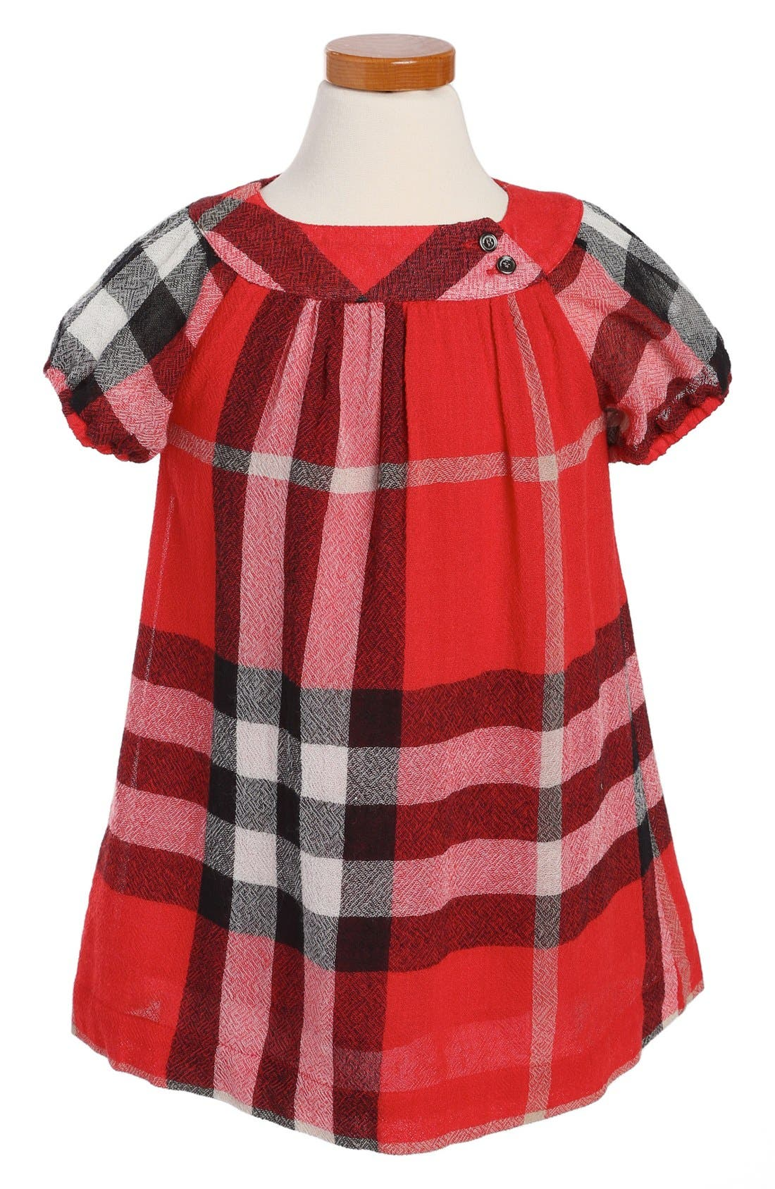 Alternate Image 1 Selected - Burberry 'Delany' Dress (Toddler Girls)