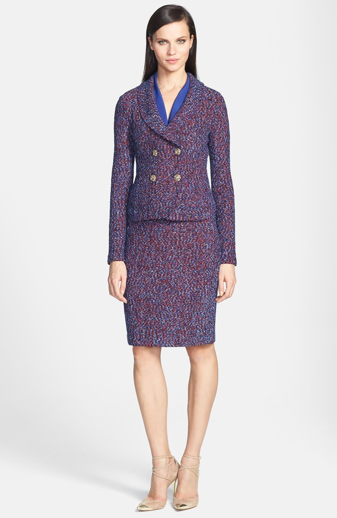 Alternate Image 4  - St. John Collection Looped Lash Tweed Knit Jacket