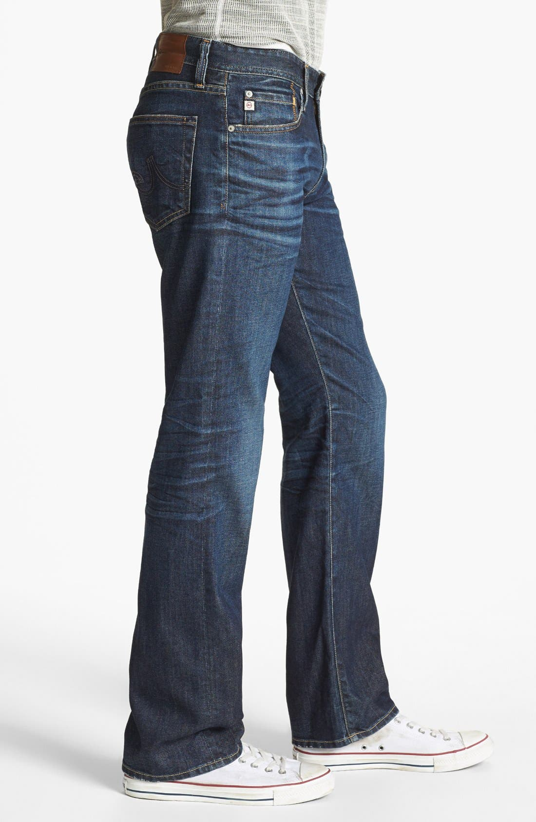 Alternate Image 3  - AG 'Protégé' Straight Leg Jeans (5 Year Lounge)