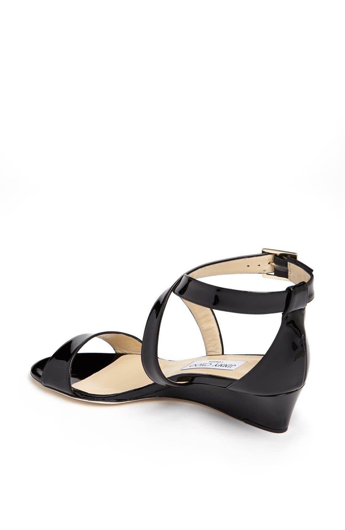 Alternate Image 5  - Jimmy Choo 'Chiara' Strap Wedge Sandal (Women)
