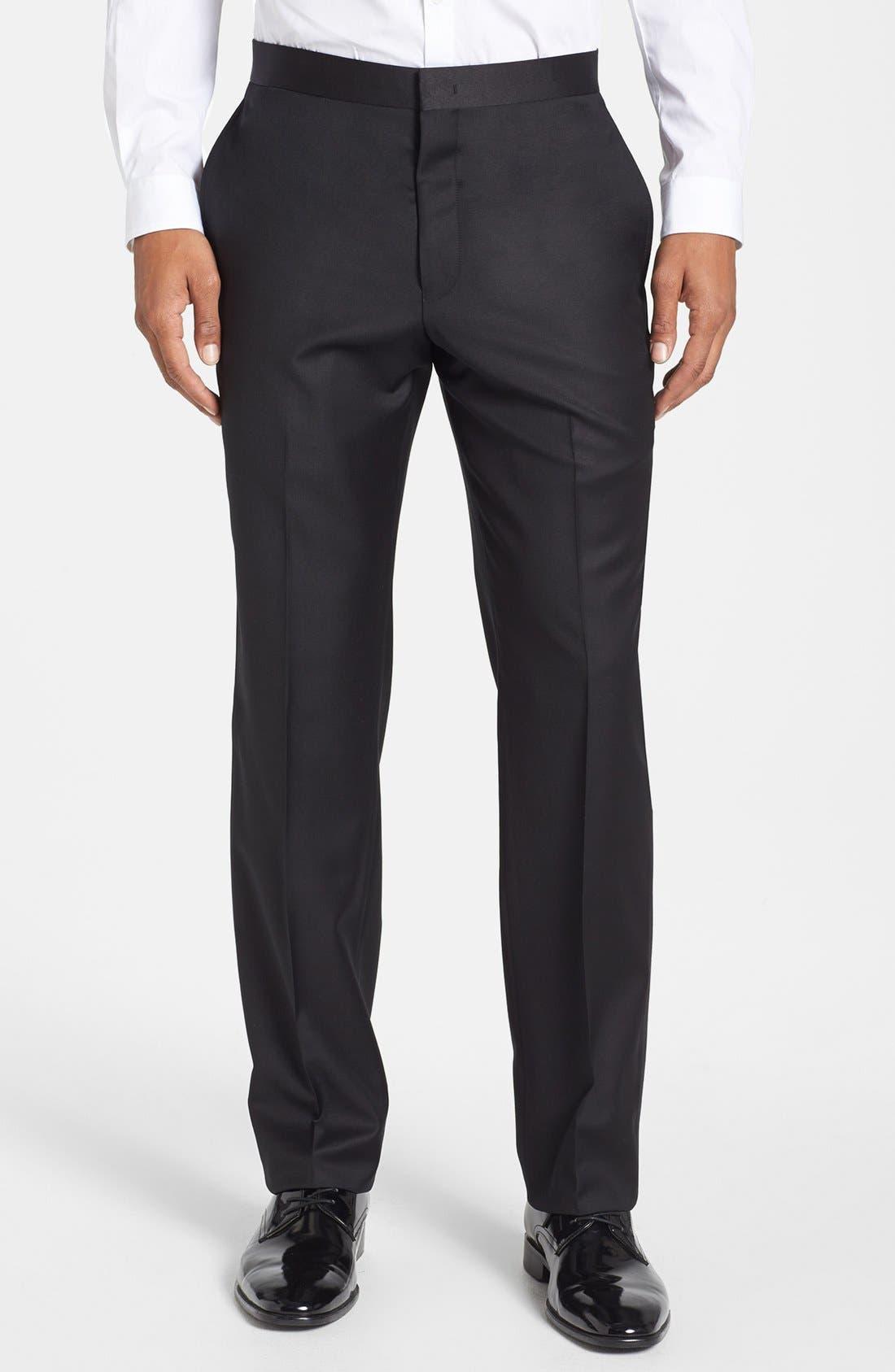 Alternate Image 5  - Michael Kors Trim Fit Wool Tuxedo
