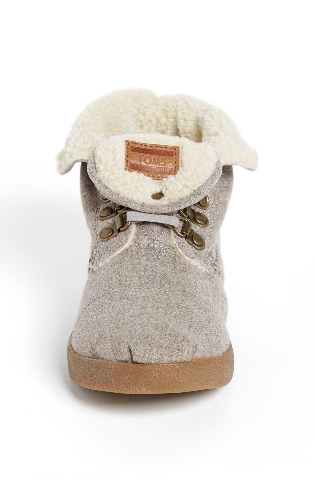 Alternate Image 3  - TOMS 'High Botas' Fleece Boot (Women)