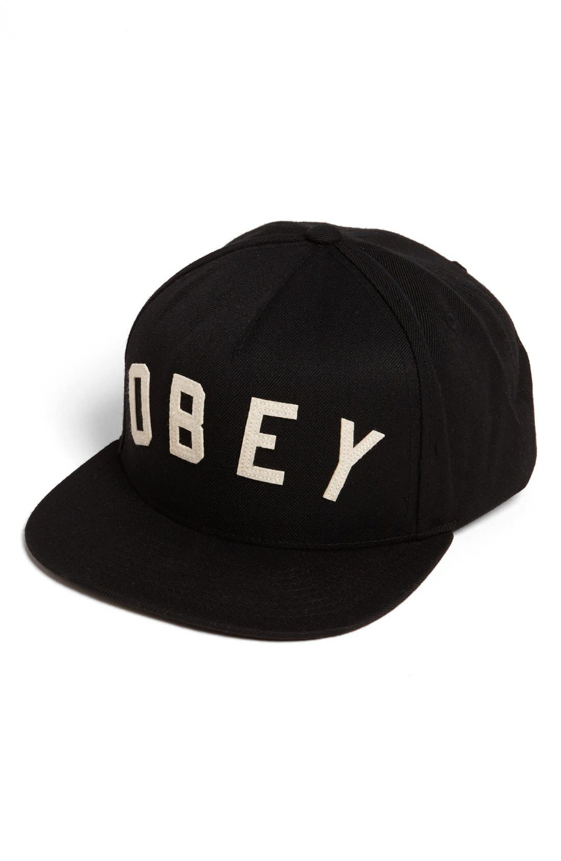 Alternate Image 1 Selected - Obey 'Core' Snapback Baseball Cap