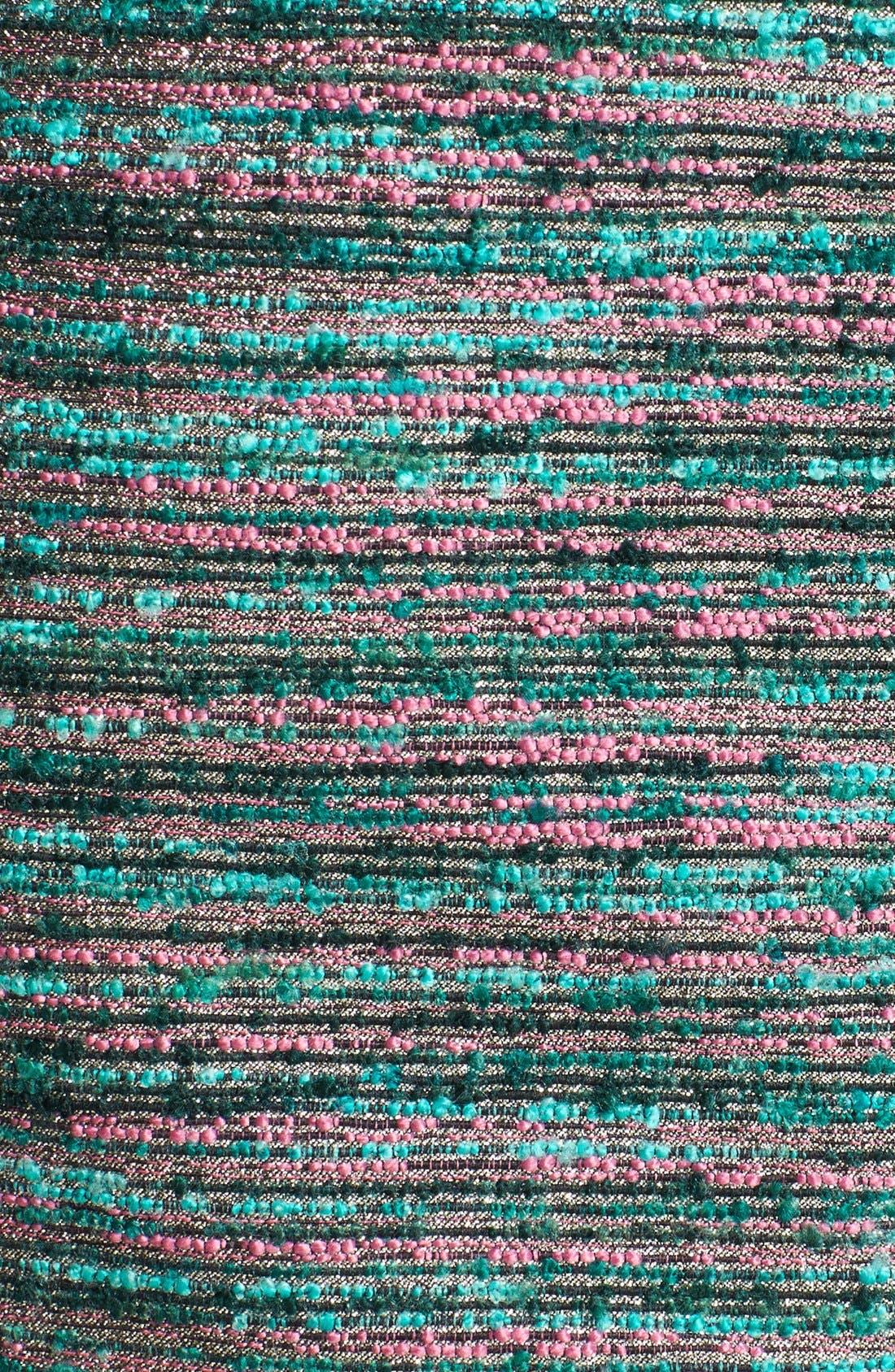 Alternate Image 3  - Laundry by Shelli Segal Embellished Bouclé Sheath Dress