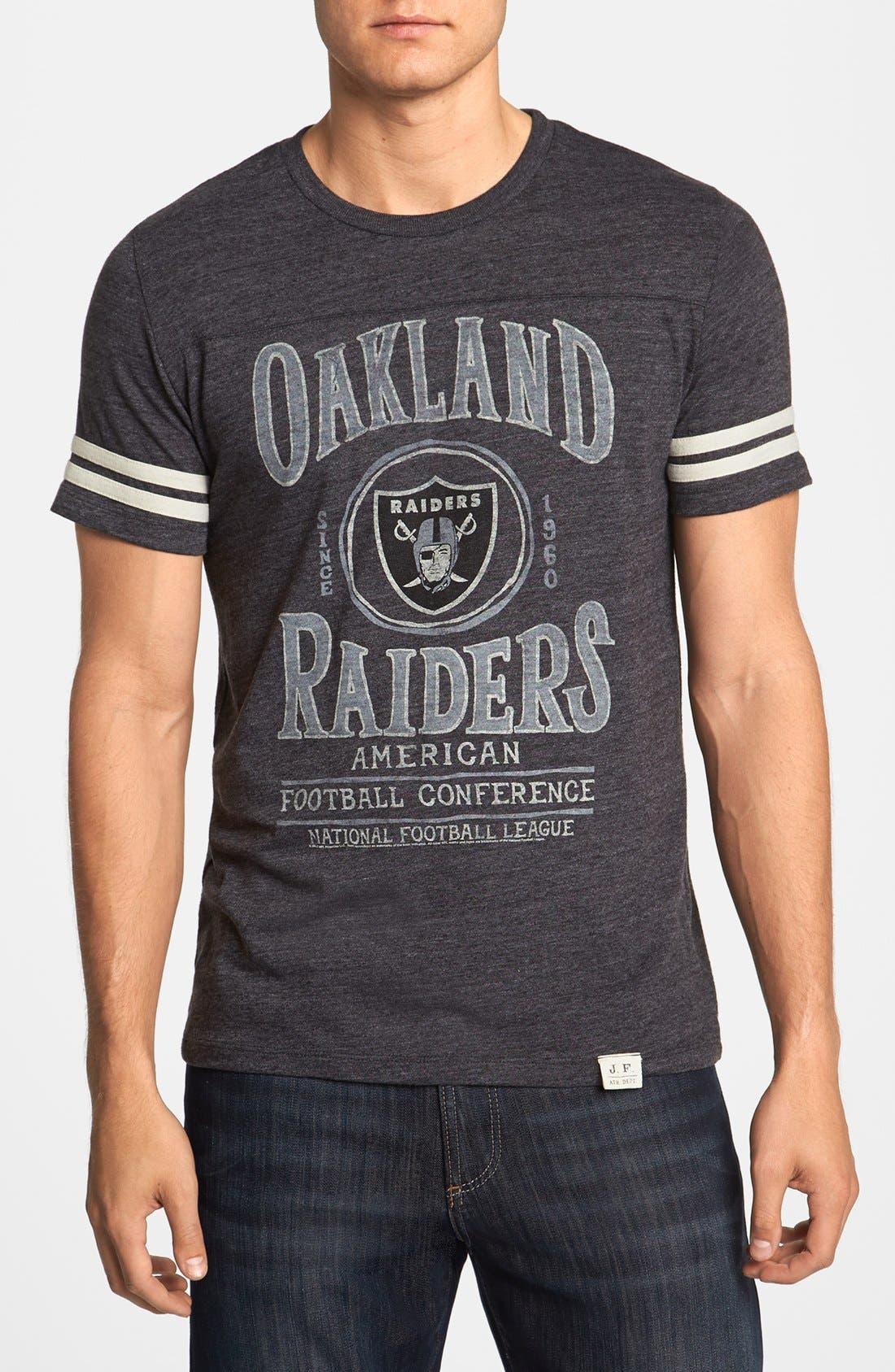 Alternate Image 1 Selected - Junk Food 'Touchdown - Oakland Raiders' T-Shirt